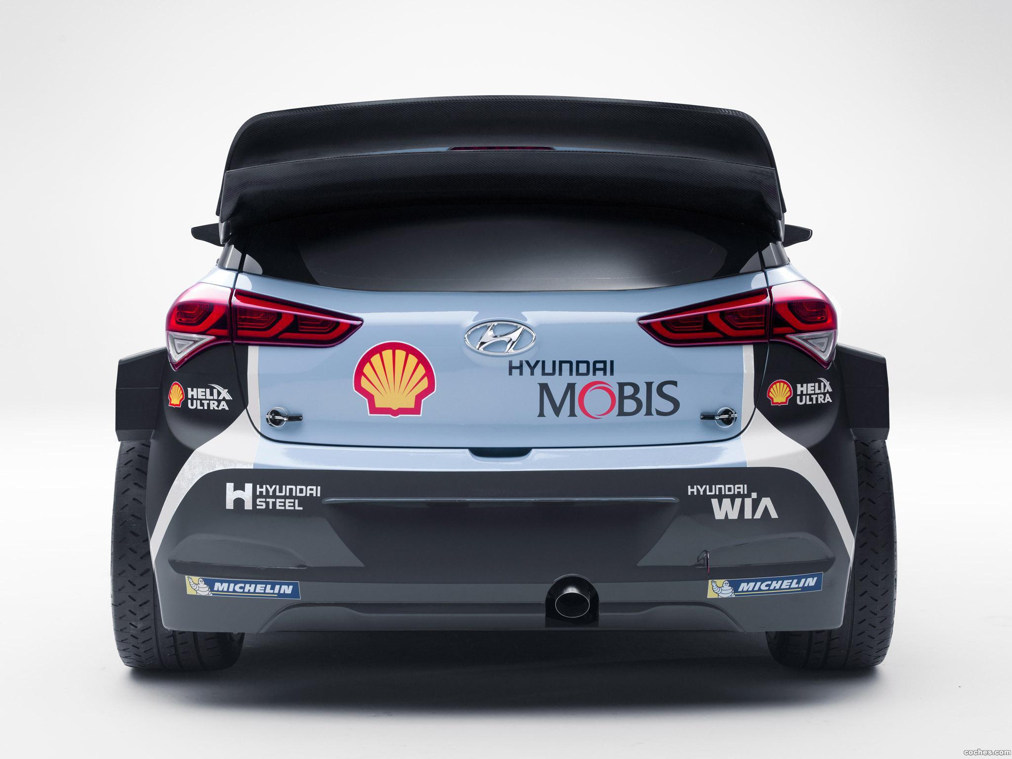 Foto 4 de Hyundai i20 WRC 2016