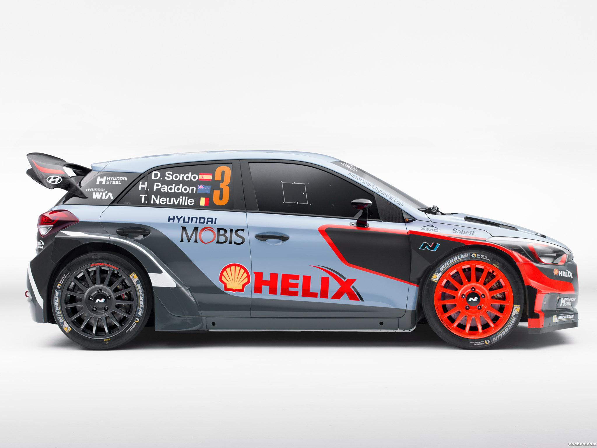 Foto 3 de Hyundai i20 WRC 2016