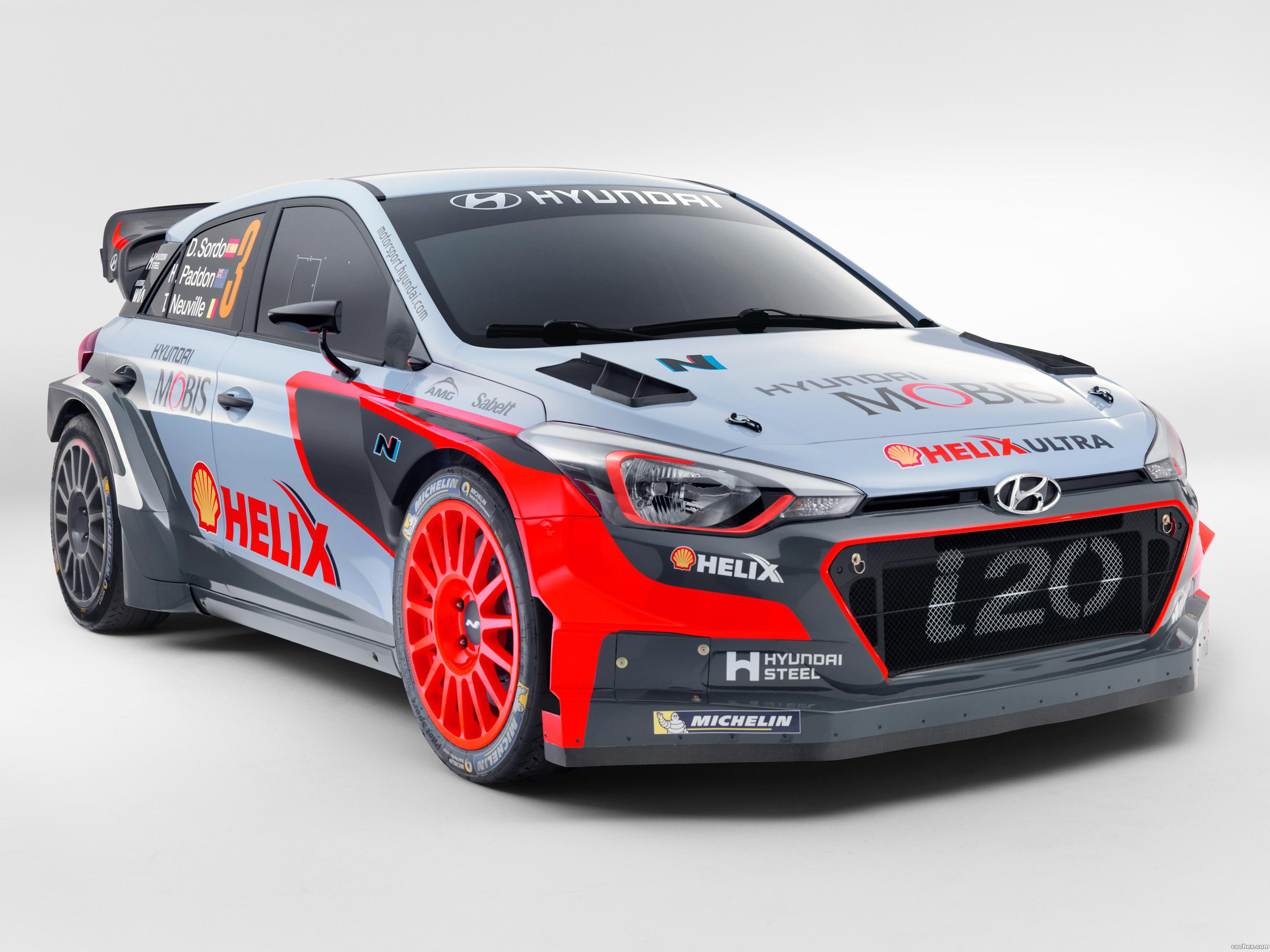 Foto 0 de Hyundai i20 WRC 2016