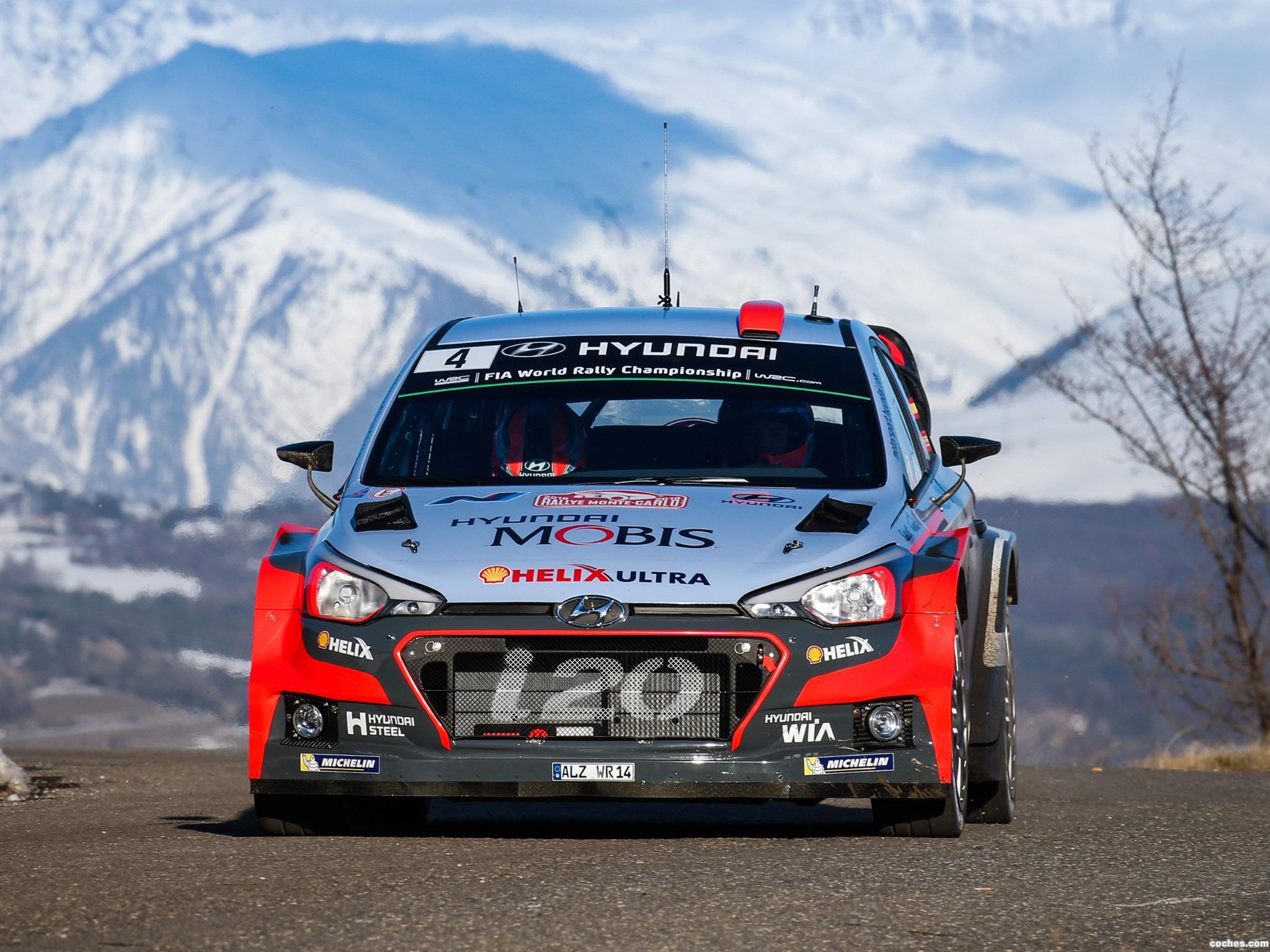 Foto 10 de Hyundai i20 WRC 2016