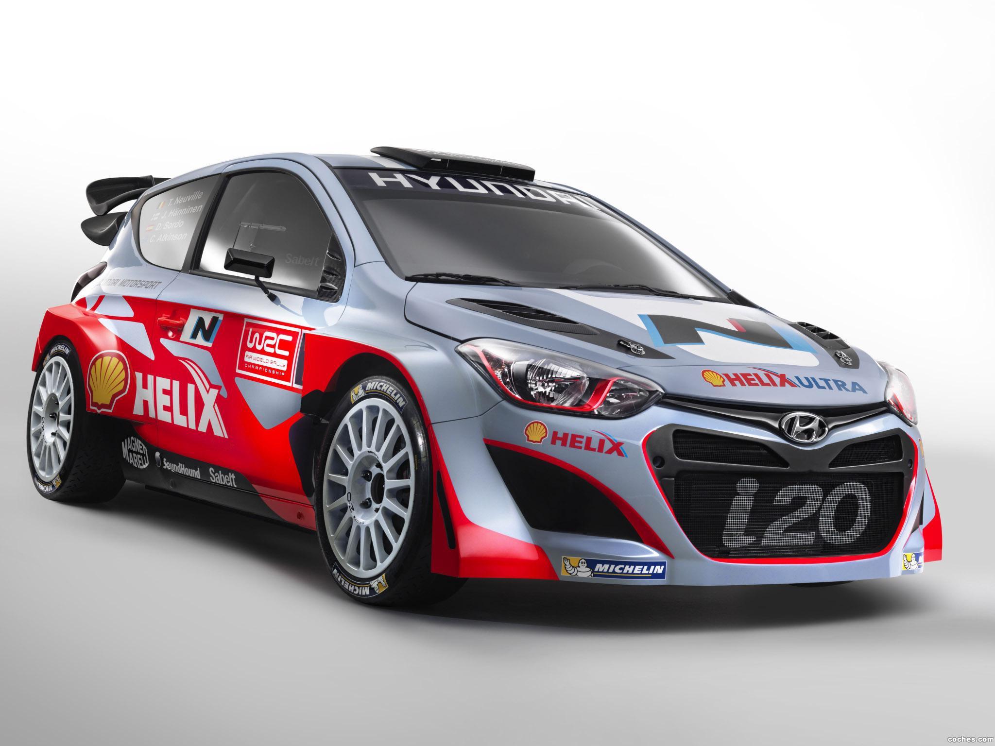 Foto 0 de Hyundai i20 WRC 2014