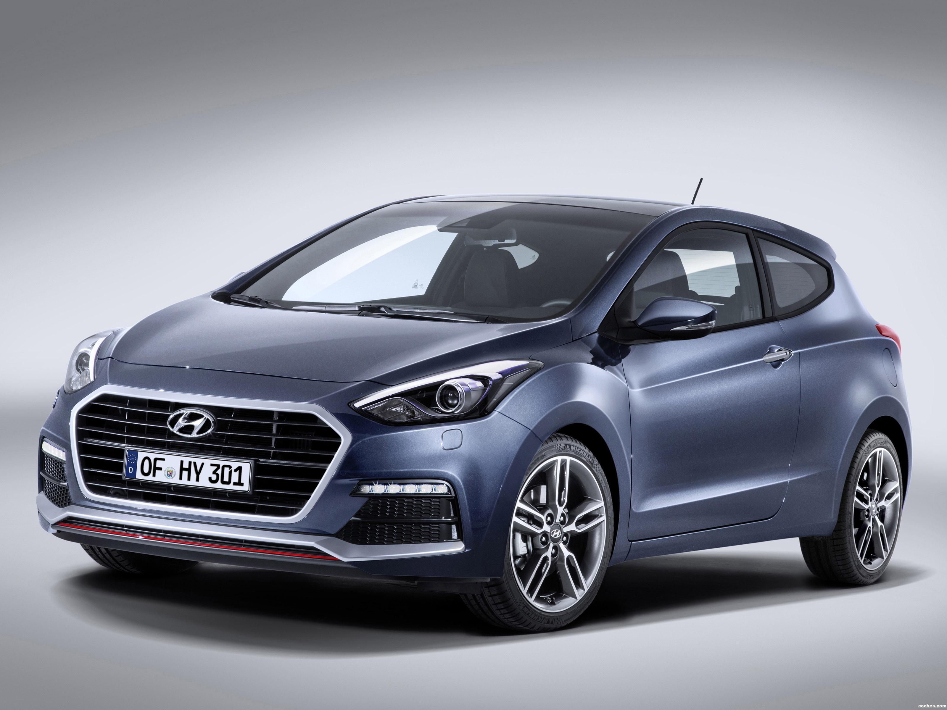 Foto 0 de Hyundai i30 3 puertas Turbo 2015