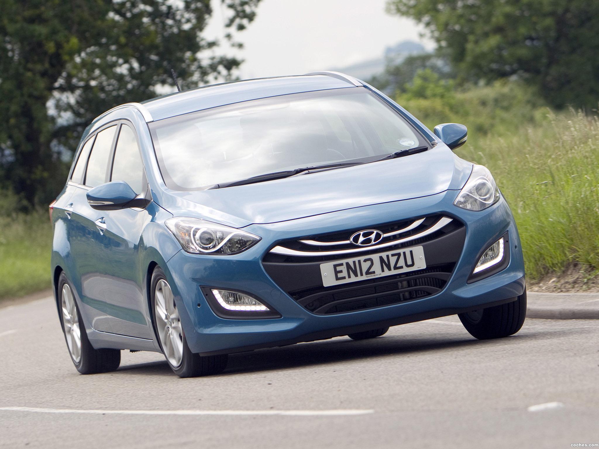 Foto 6 de Hyundai I30 Wagon UK 2012