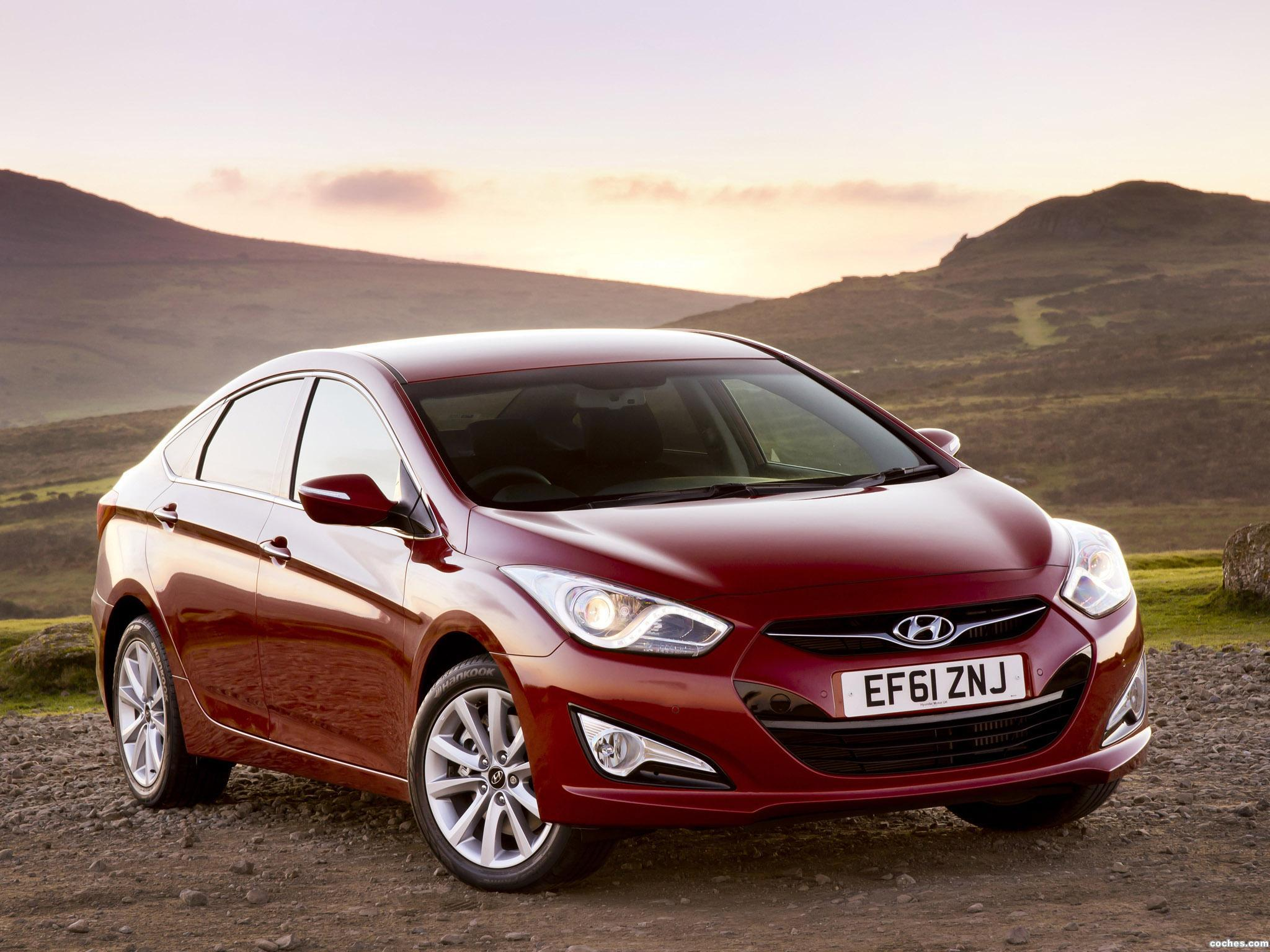 Foto 0 de Hyundai i40 Sedan UK 2012