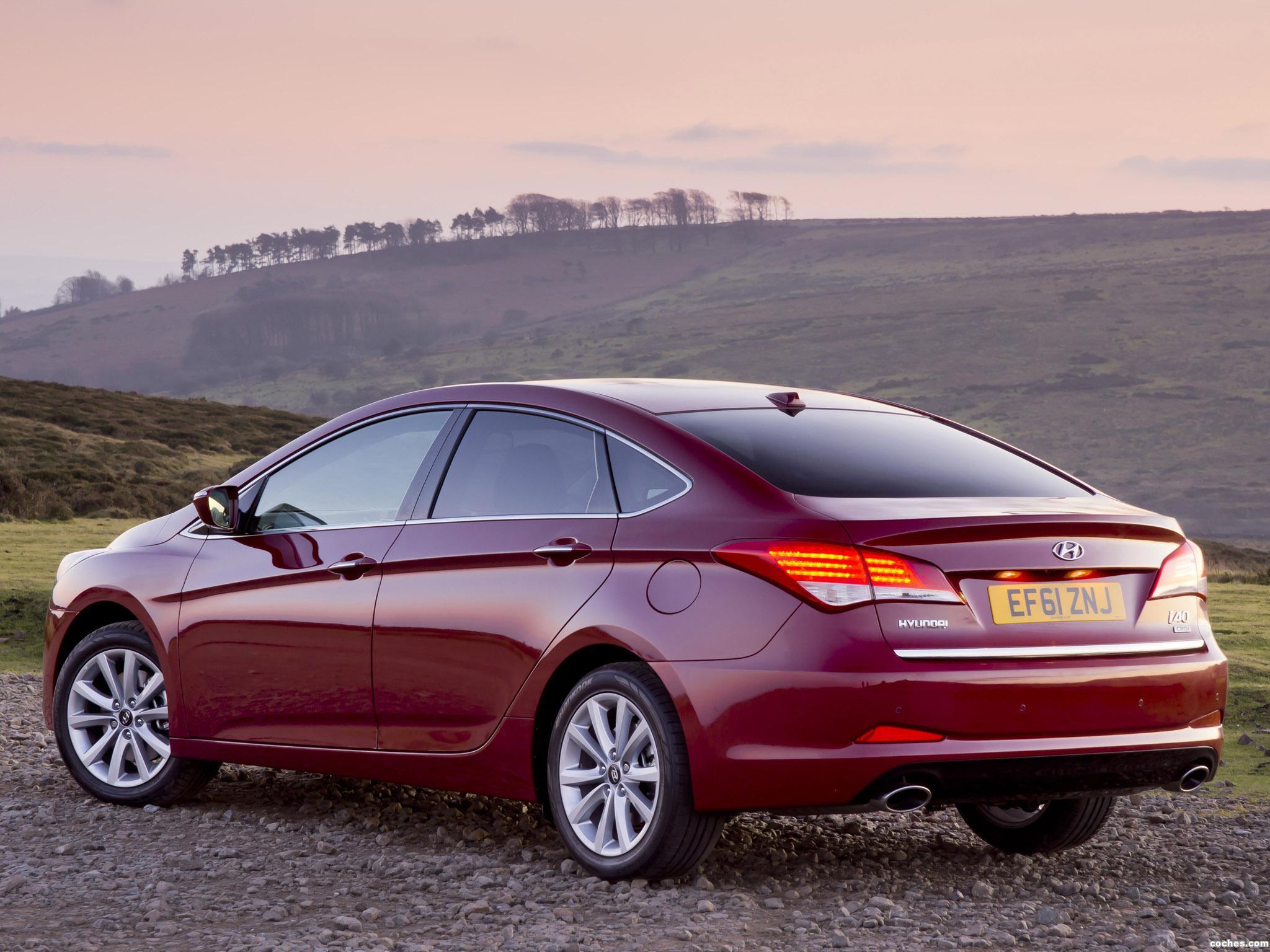 Foto 7 de Hyundai i40 Sedan UK 2012