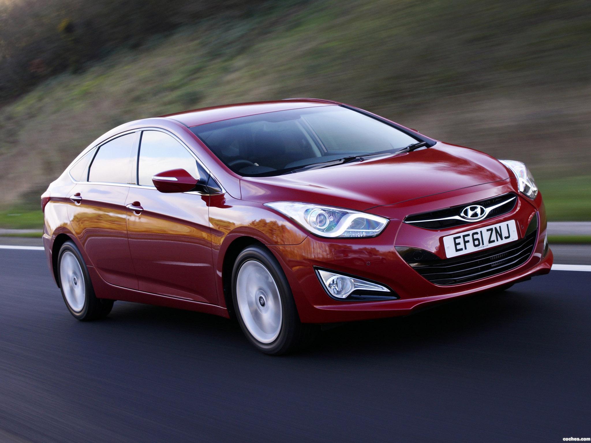Foto 5 de Hyundai i40 Sedan UK 2012