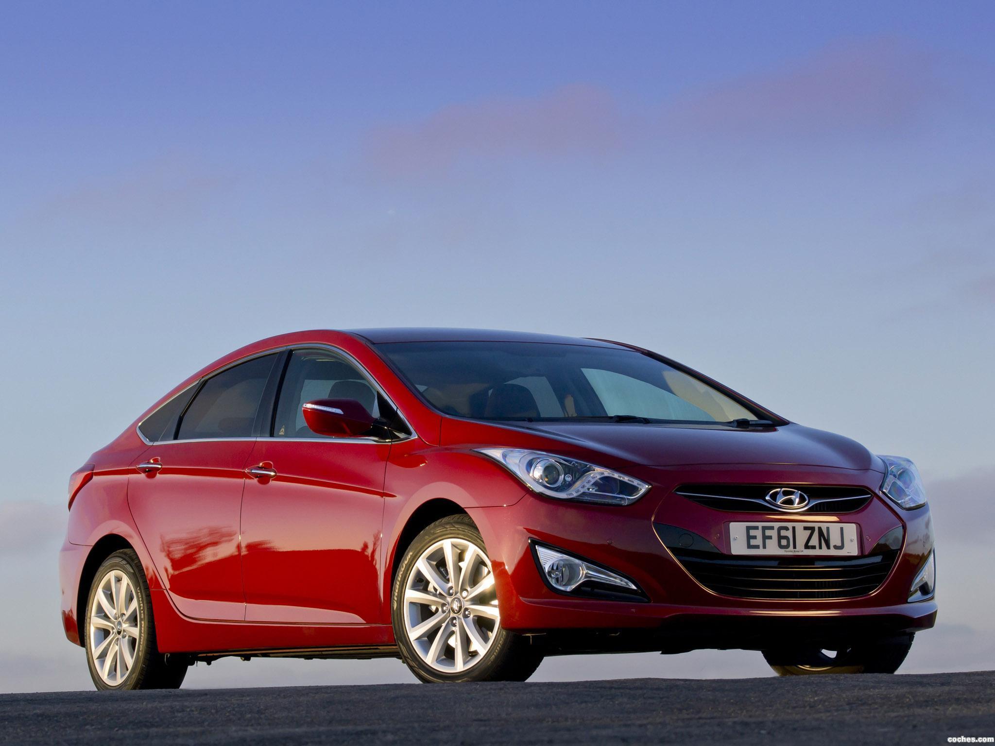 Foto 3 de Hyundai i40 Sedan UK 2012