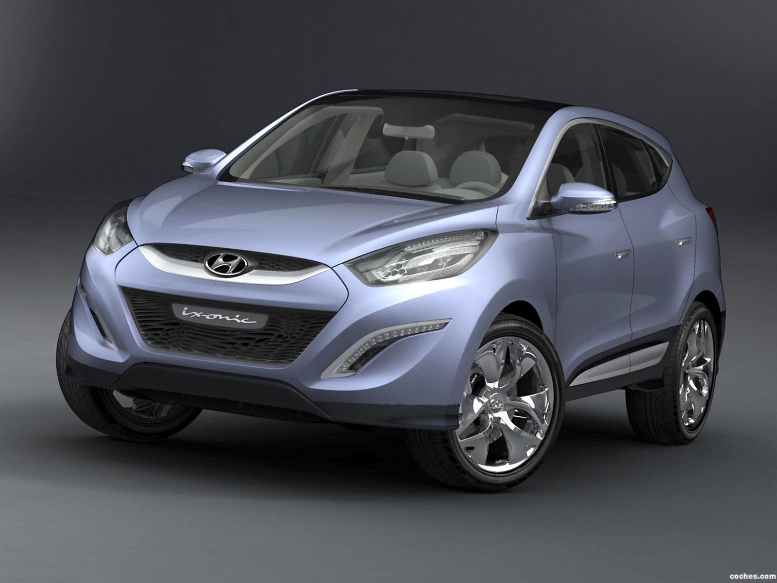 Foto 0 de Hyundai ix-onic Concept 2009