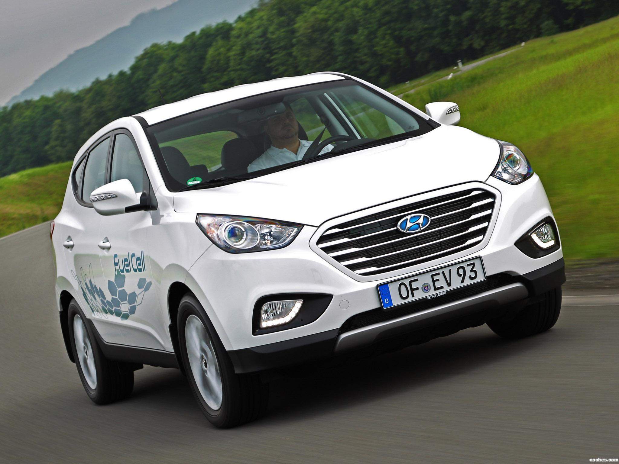 Foto 5 de Hyundai ix35 Fuel Cell 2012
