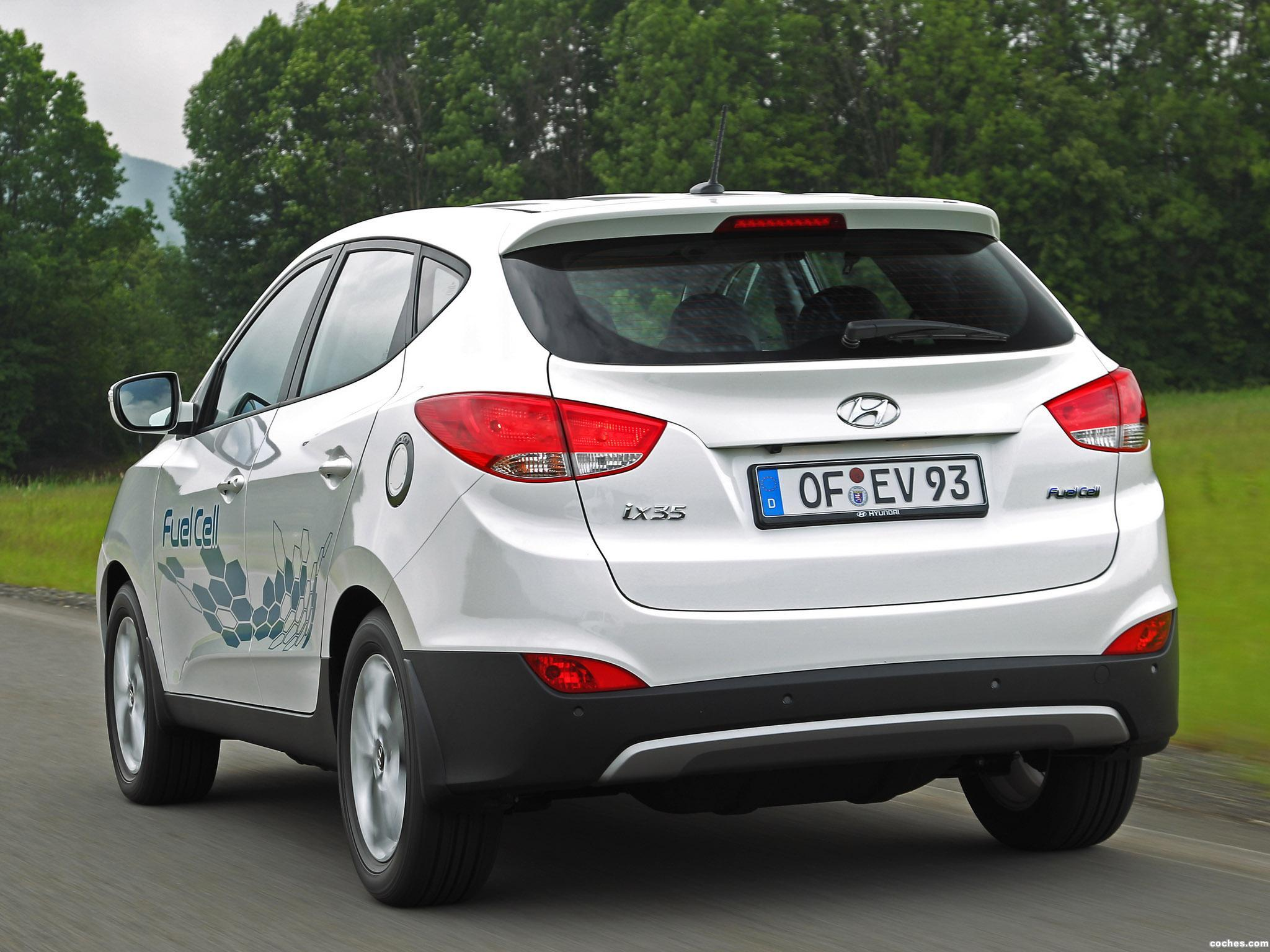 Foto 3 de Hyundai ix35 Fuel Cell 2012
