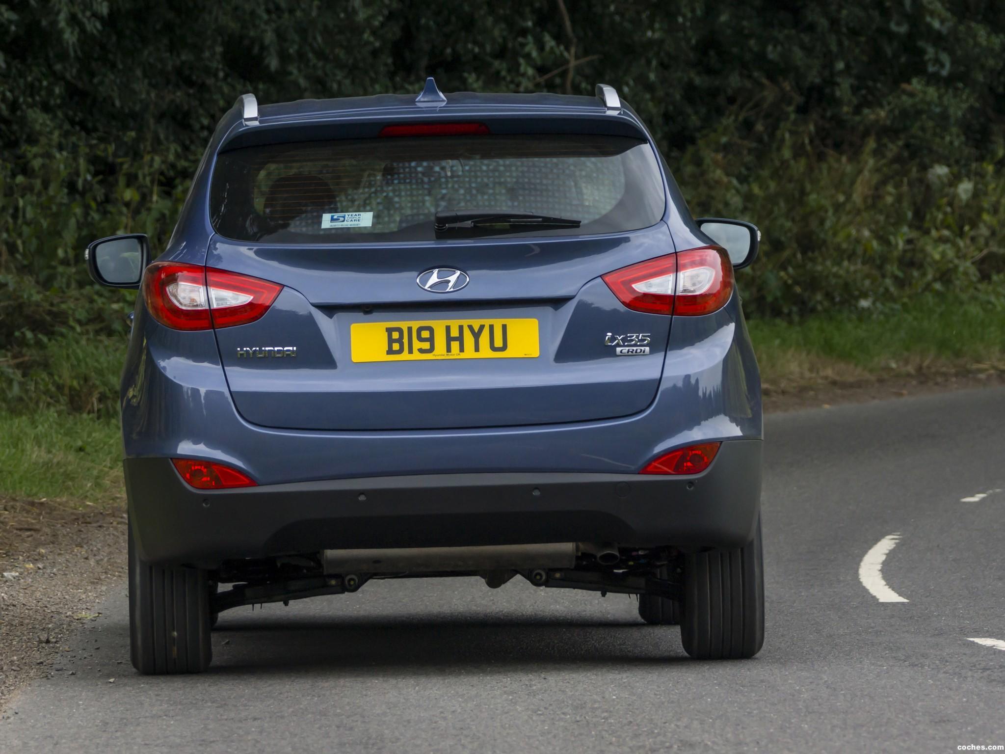 Foto 9 de Hyundai ix35 UK 2013