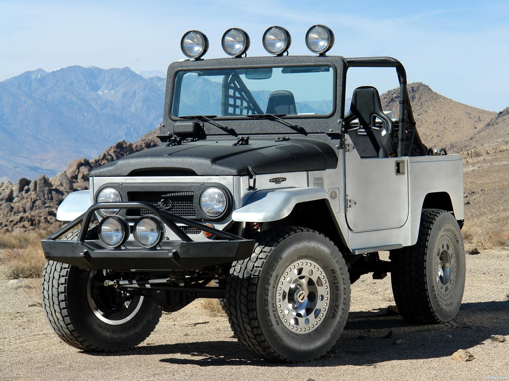 Foto 0 de Icon Toyota Land Cruiser BAJA 1000 Limited Edition FJ40 2008