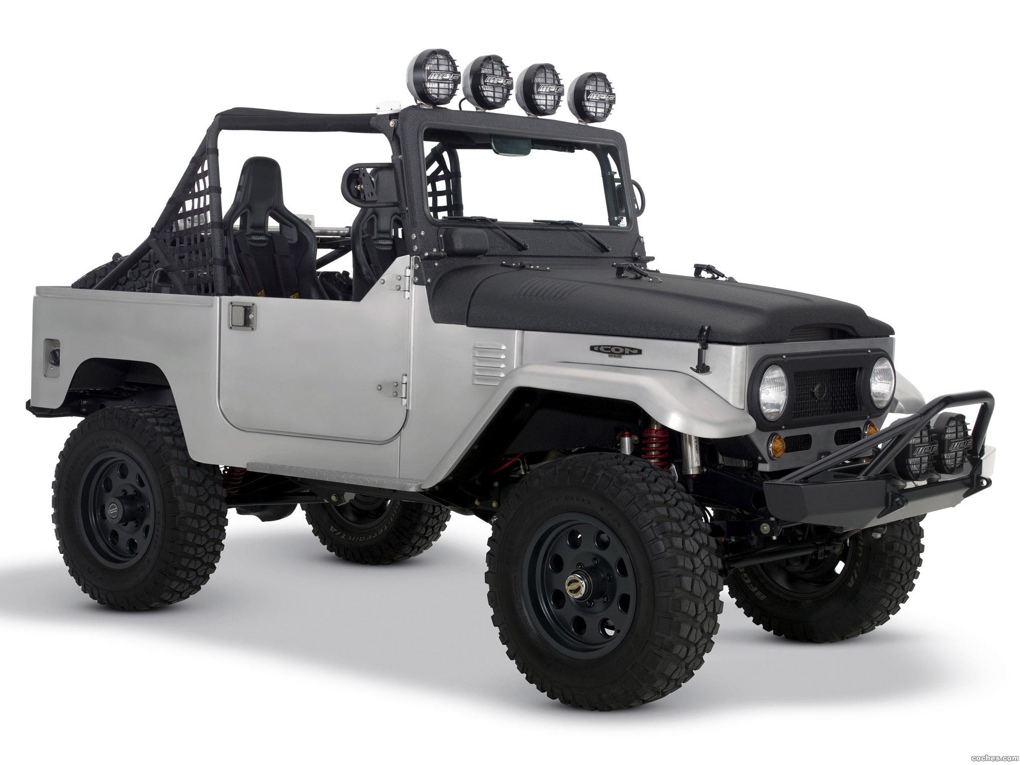 Foto 6 de Icon Toyota Land Cruiser BAJA 1000 Limited Edition FJ40 2008
