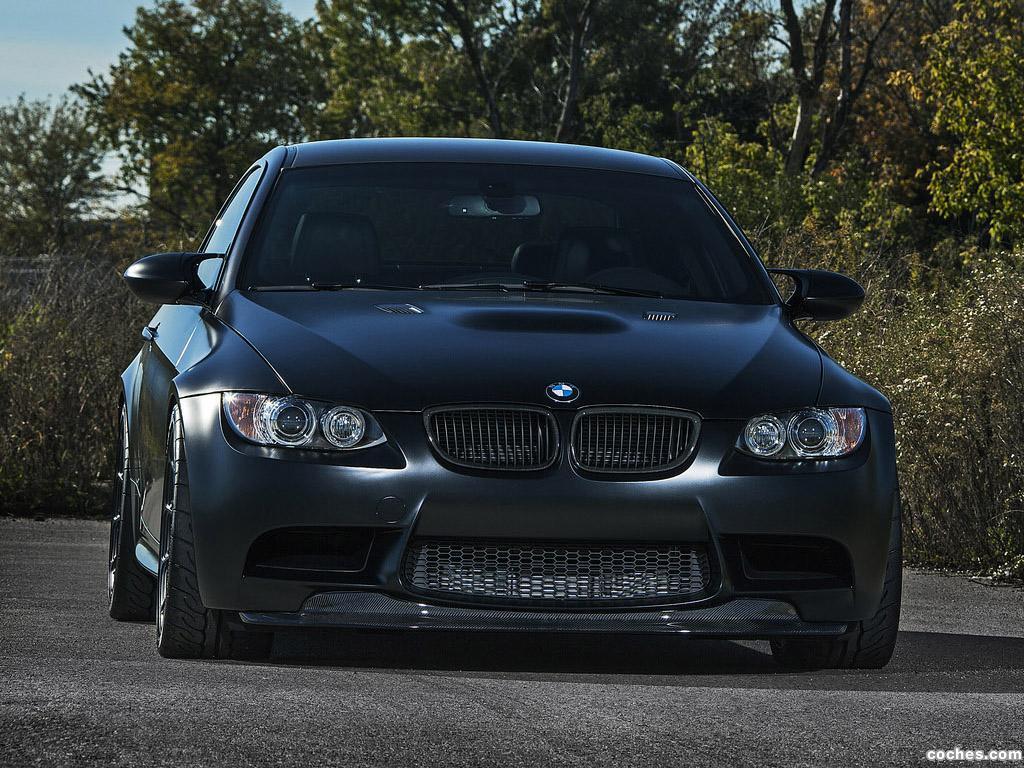 Foto 2 de BMW IND Distribution Serie 3 M3 Frozen Black E92 2013