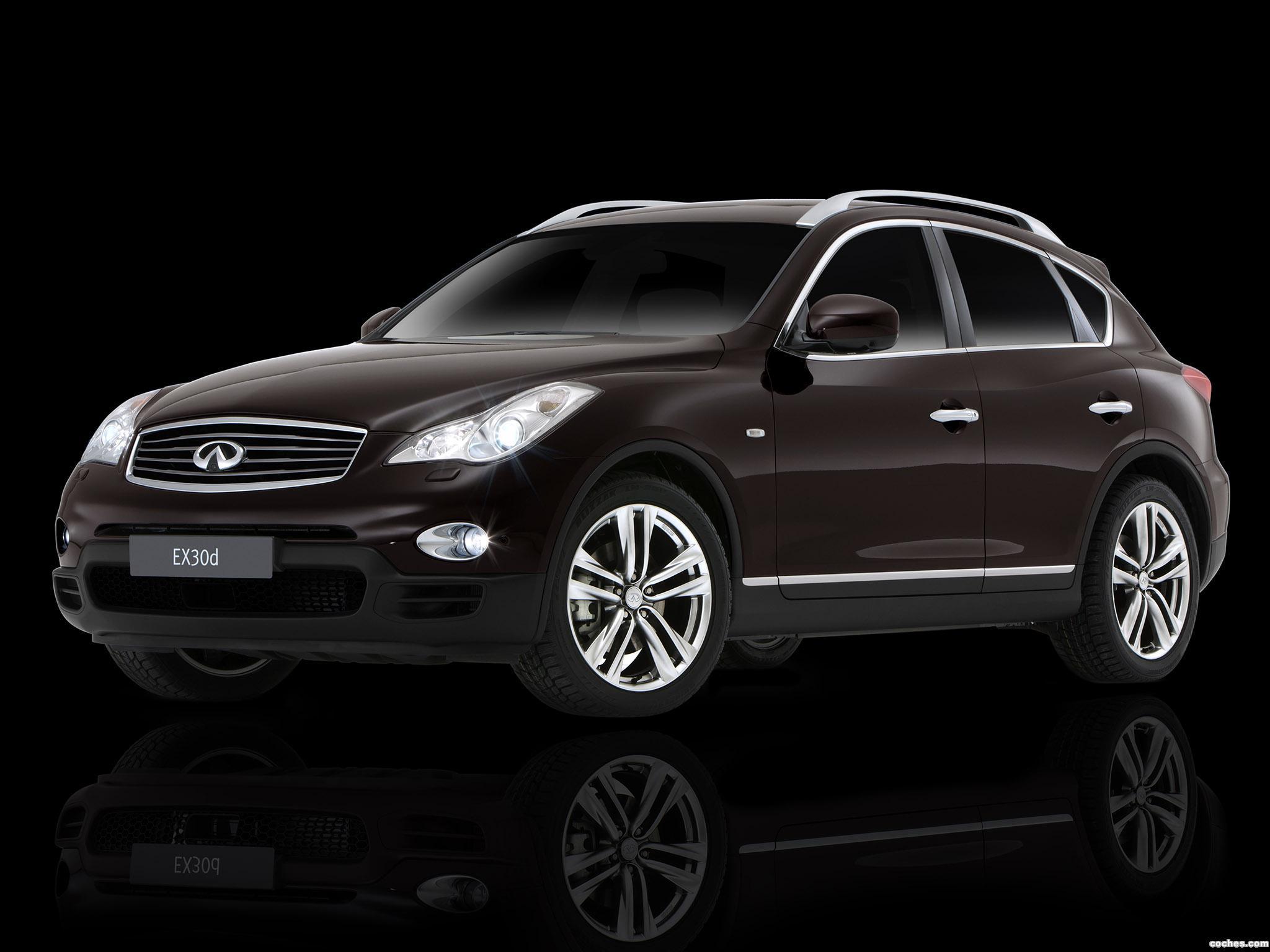 Foto 0 de Infiniti EX30d Black Premium 2011
