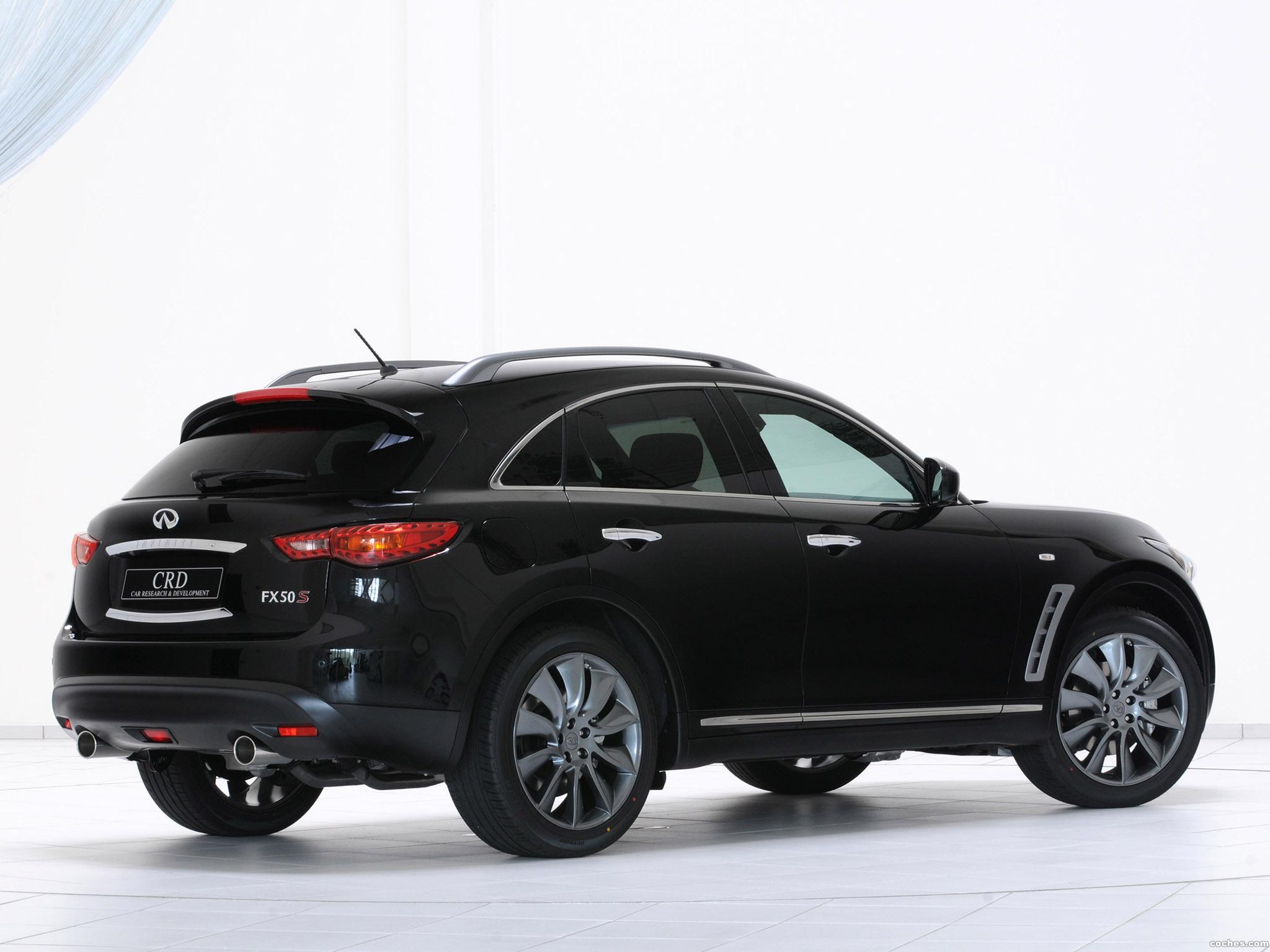 Foto 1 de Infiniti FX 50S Concept Car by CRD 2009