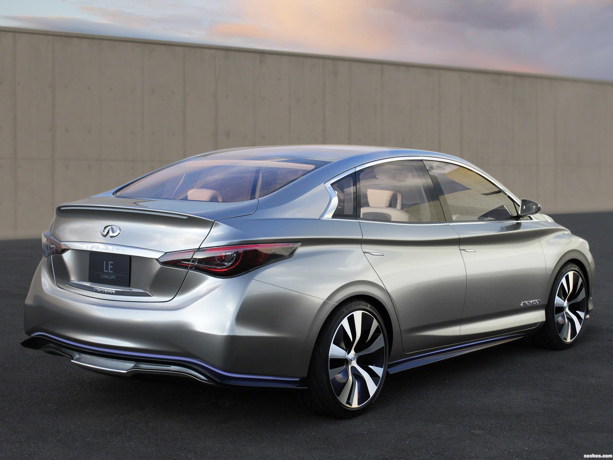 Foto 2 de Infiniti LE Electric Car Concept 2012