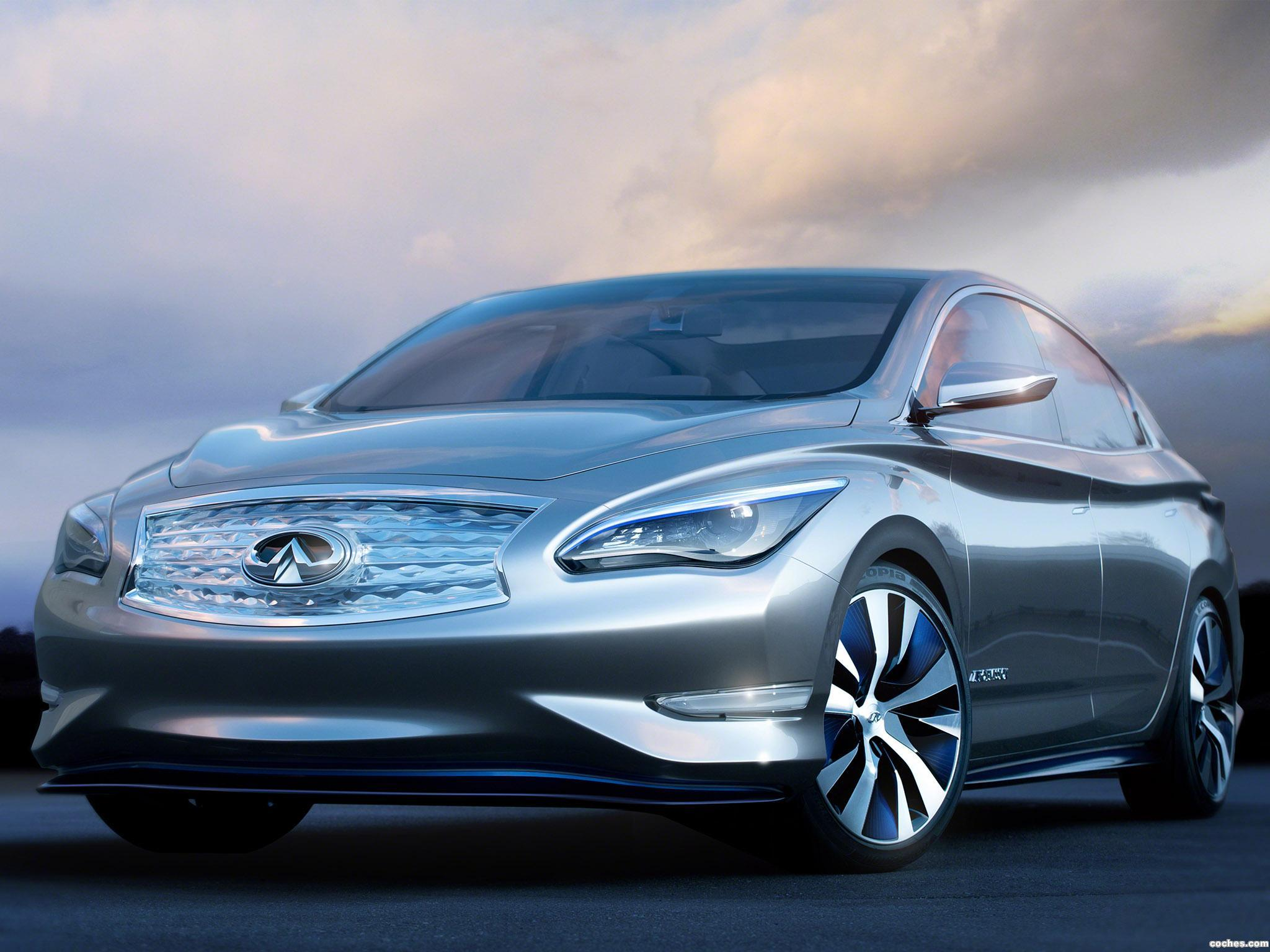 Foto 0 de Infiniti LE Electric Car Concept 2012