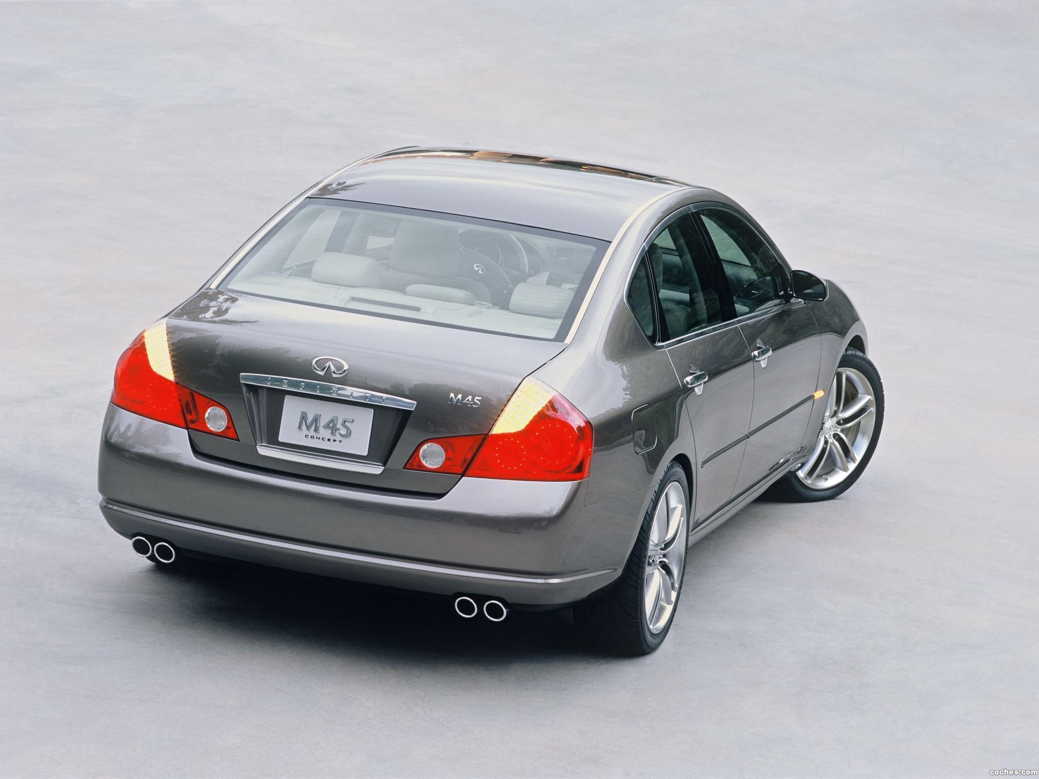 Foto 21 de Infiniti M45 Concept 2004