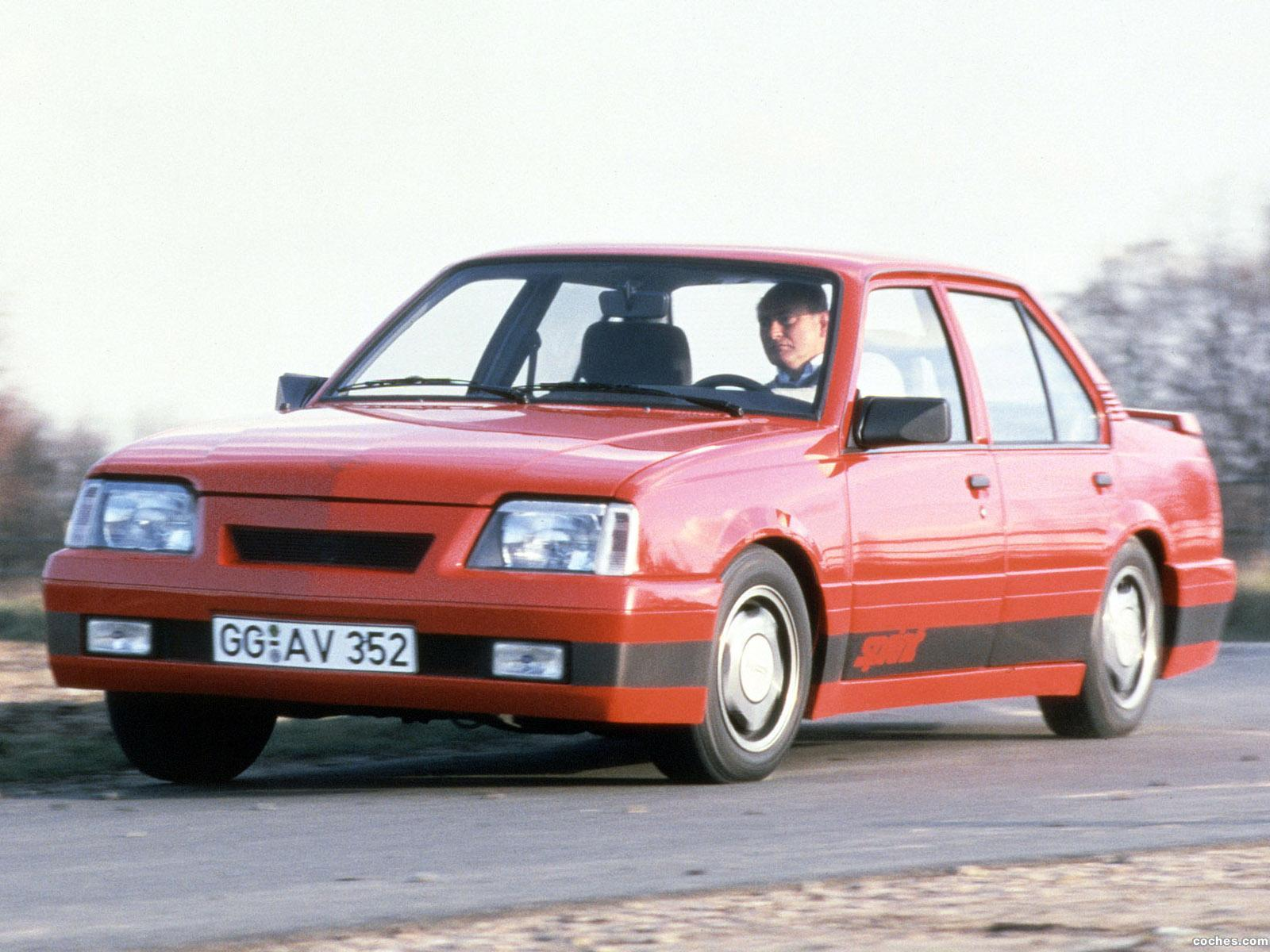 Foto 0 de Irmscher Opel Ascona C 1987