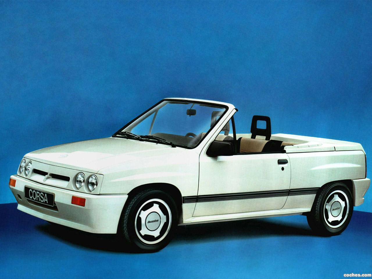 Foto 0 de Irmscher Opel Corsa A Spider GL 1986