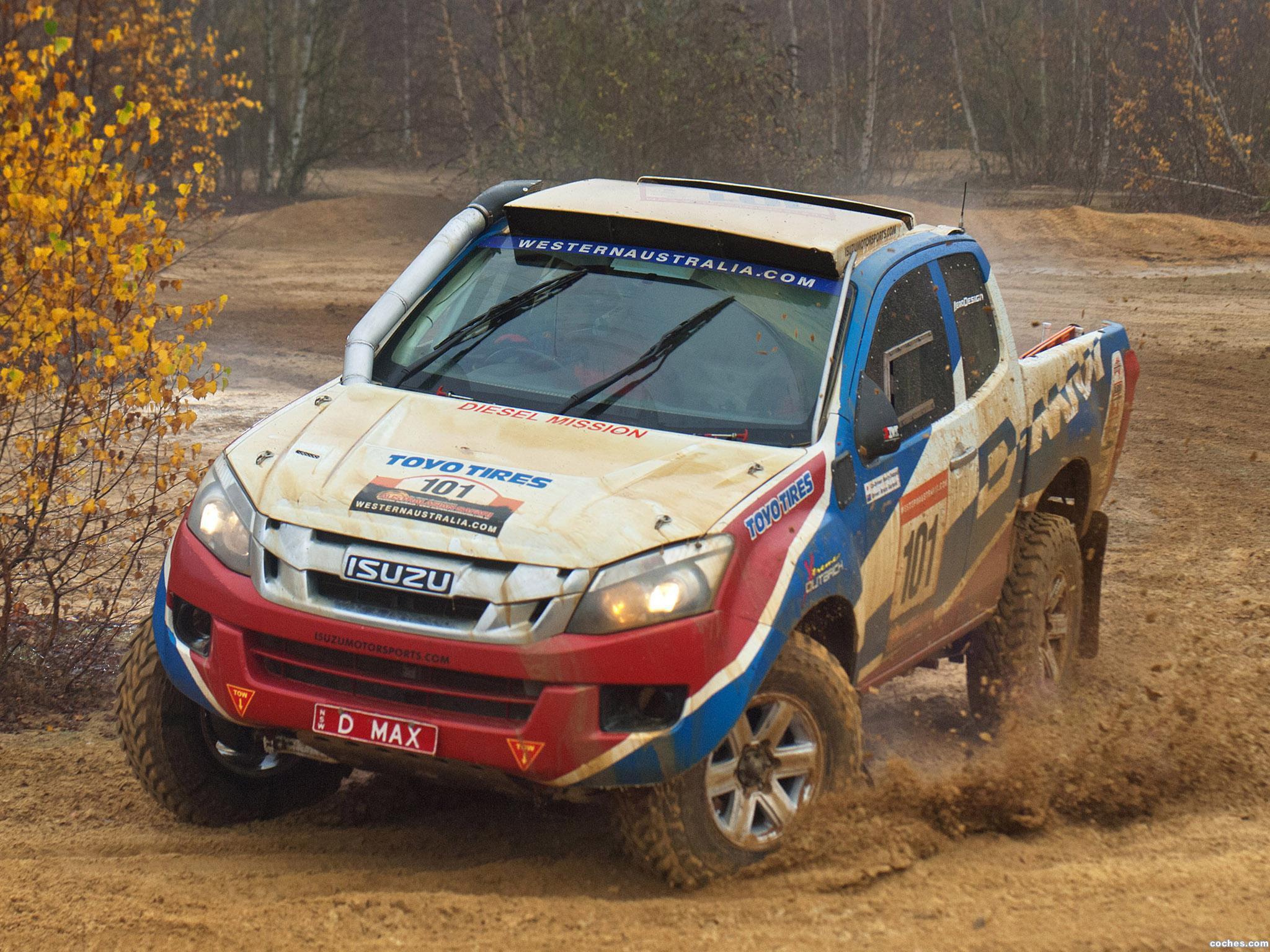 Foto 0 de Isuzu D-Max Dakar 2013