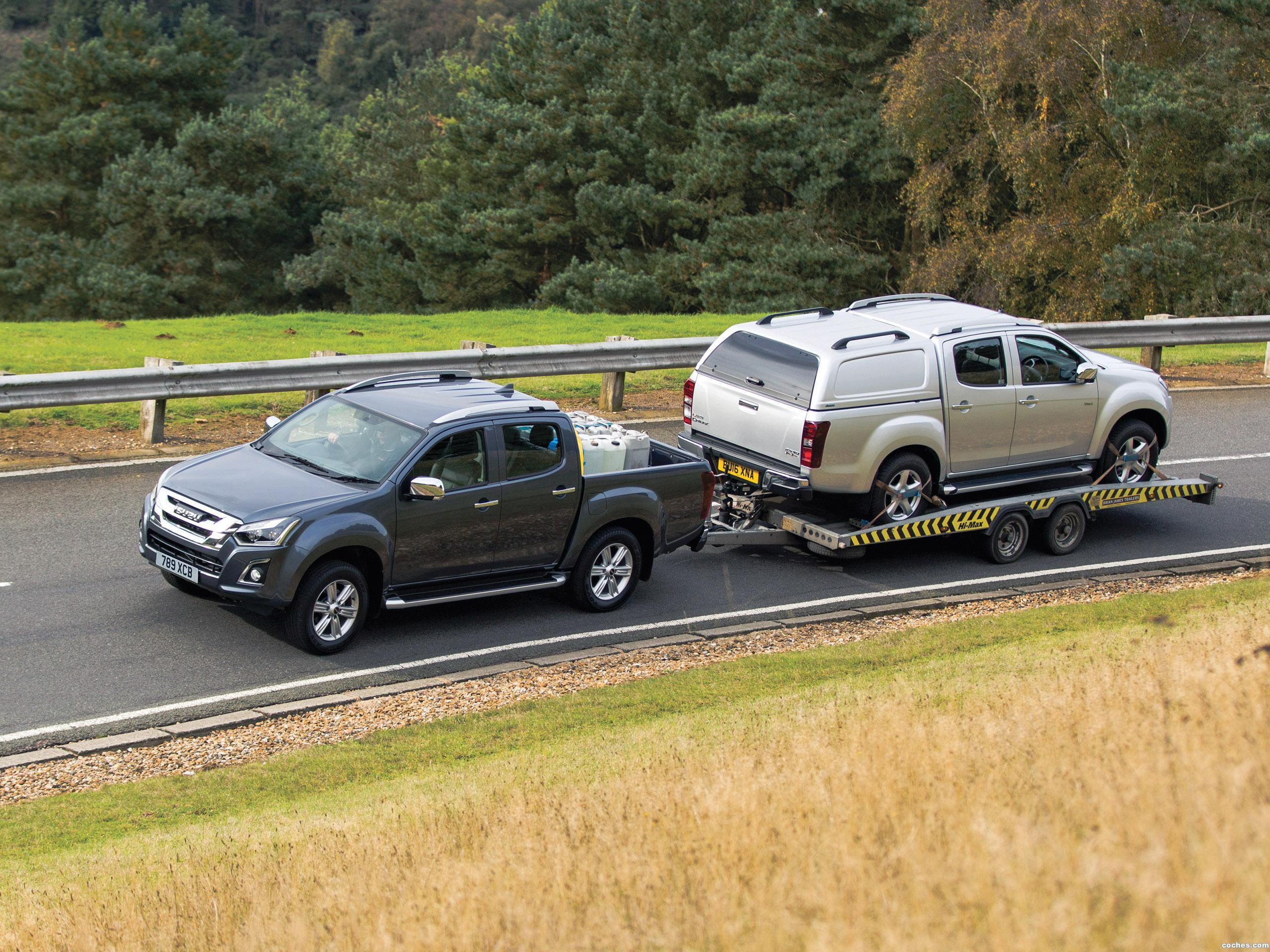 Foto 8 de Isuzu D-Max Double Cab UK 2017