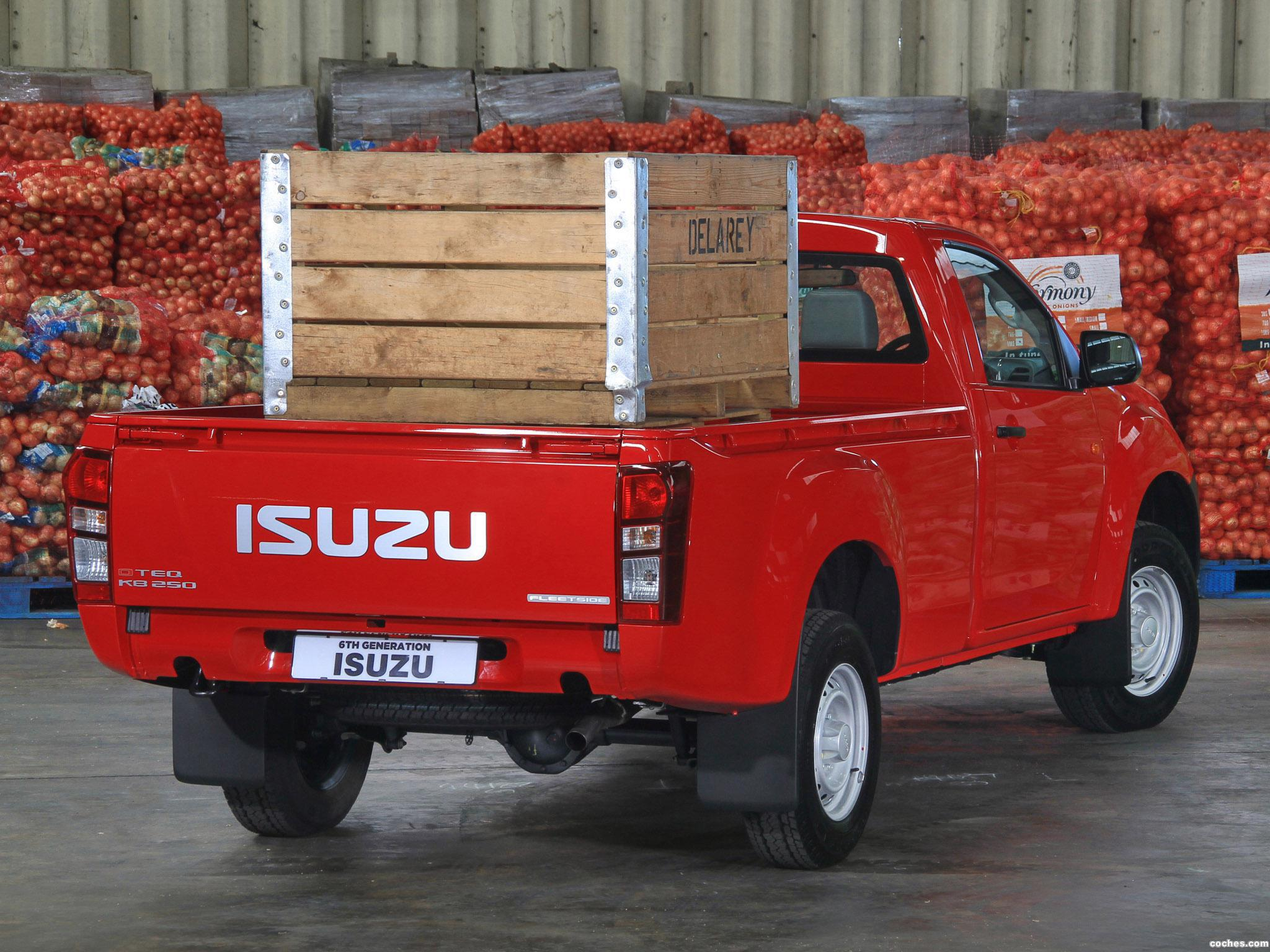 Foto 5 de Isuzu KB 250 Single Cab 2013
