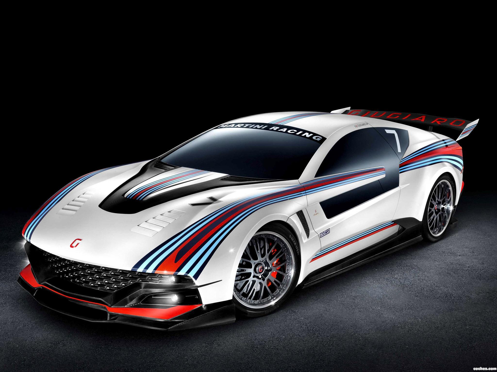 Foto 0 de Italdesign Giugiaro Brivido Martini Racing 2012