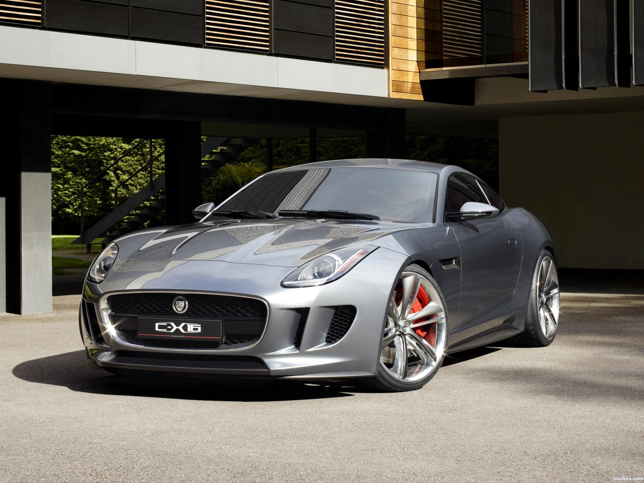 Foto 0 de Jaguar C-X16 Concept 2011