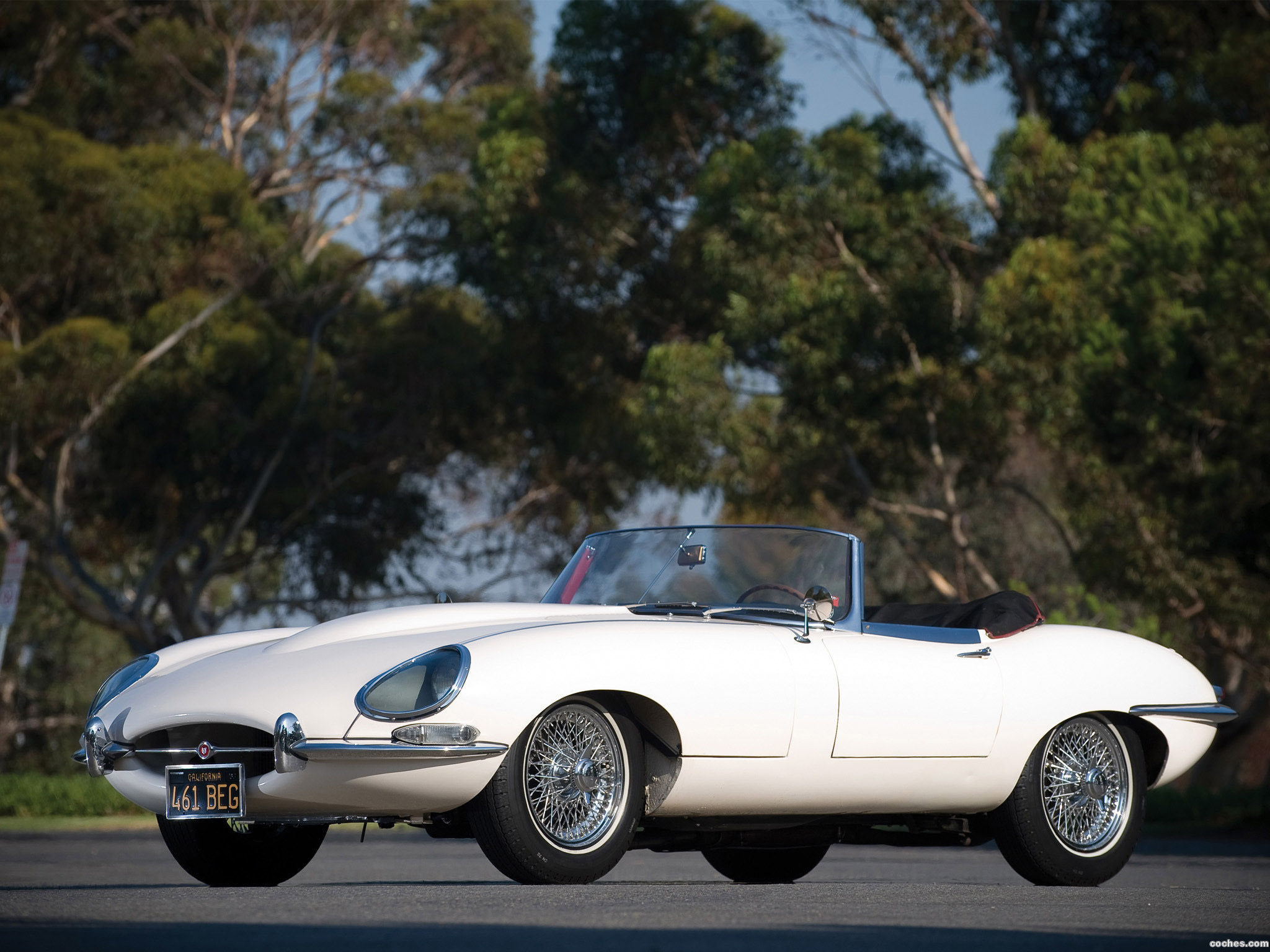 Foto 0 de Jaguar E-Type Roadster Series I 1961