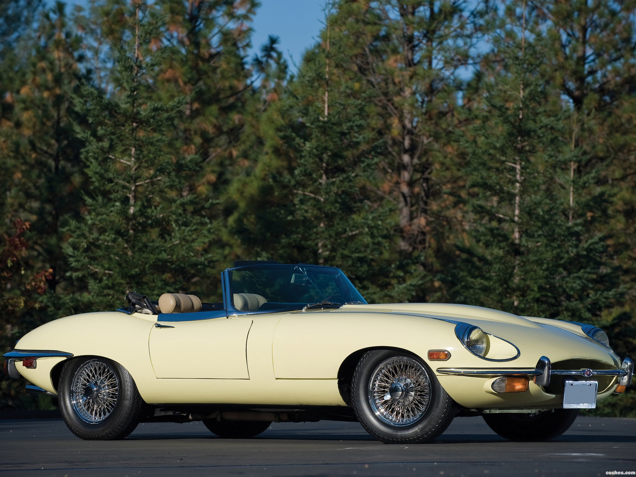 Foto 0 de Jaguar E-Type Roadster Series II 1968