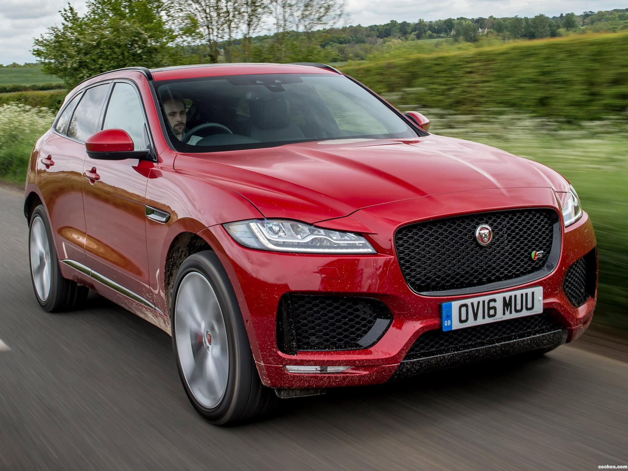 Foto 0 de Jaguar F-Pace S 30d AWD UK 2016