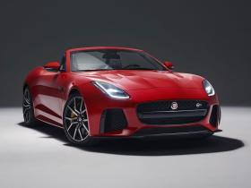Fotos de Jaguar F-Type Convertible SVR 2017