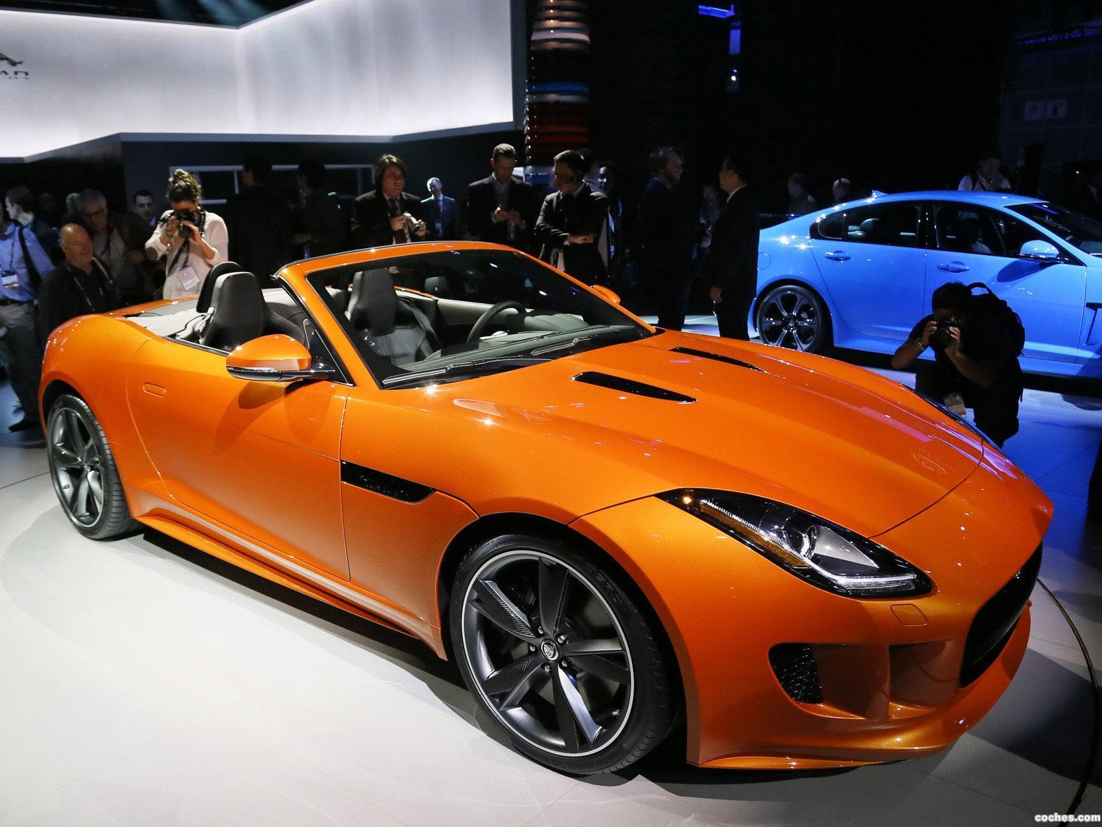 Foto 4 de Jaguar F-Type Firesand 2013