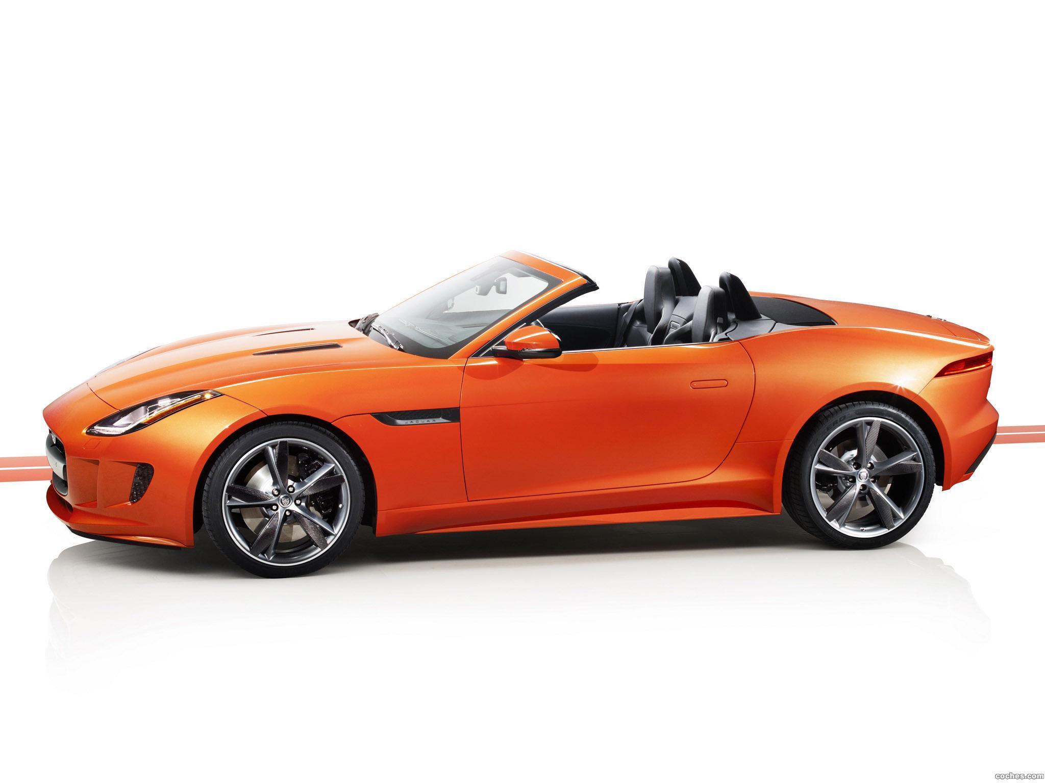 Foto 3 de Jaguar F-Type Firesand 2013