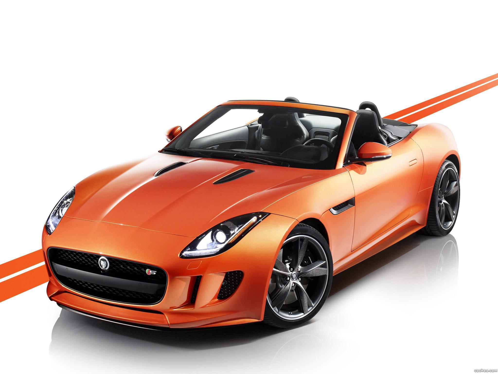 Foto 0 de Jaguar F-Type Firesand 2013