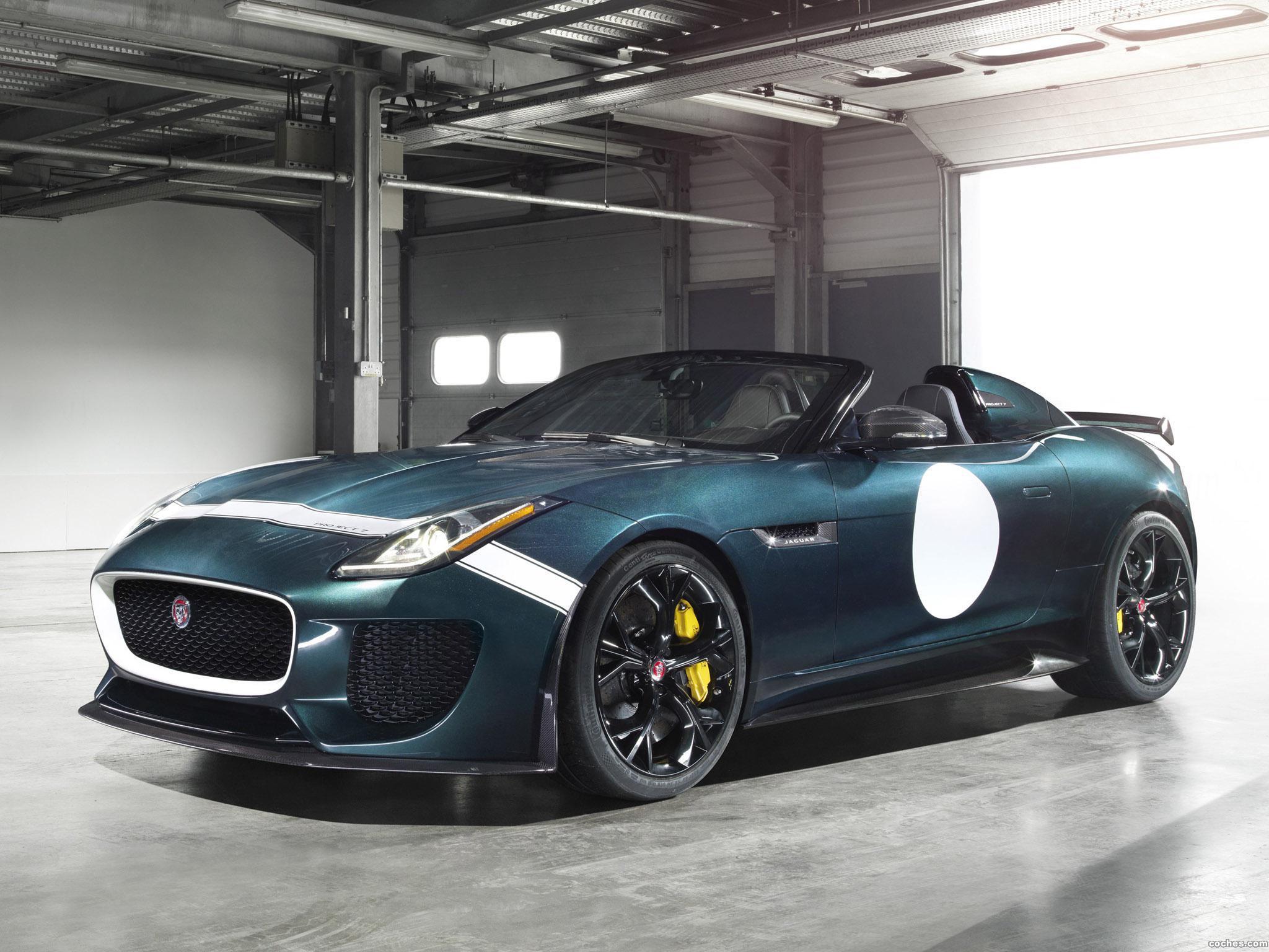 Foto 4 de Jaguar F-Type Project 7 2014