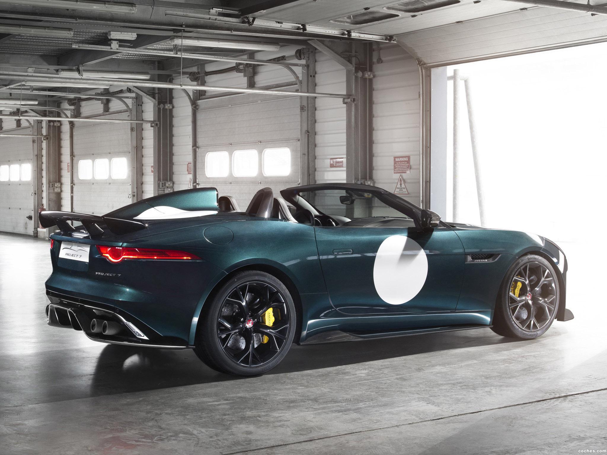 Foto 3 de Jaguar F-Type Project 7 2014