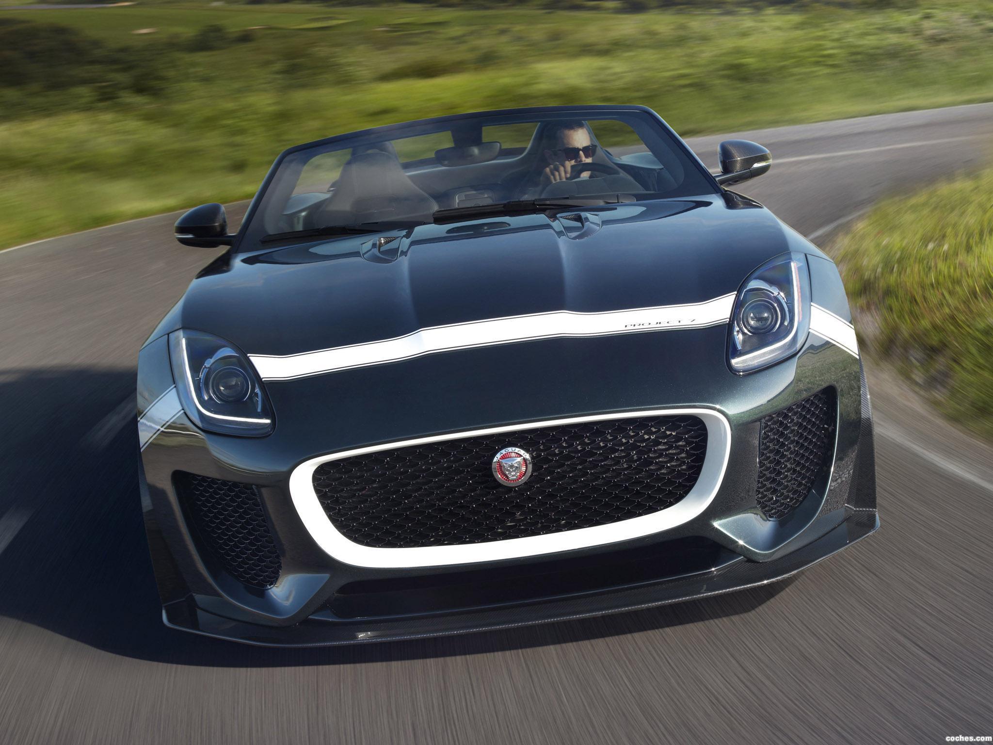 Foto 2 de Jaguar F-Type Project 7 2014