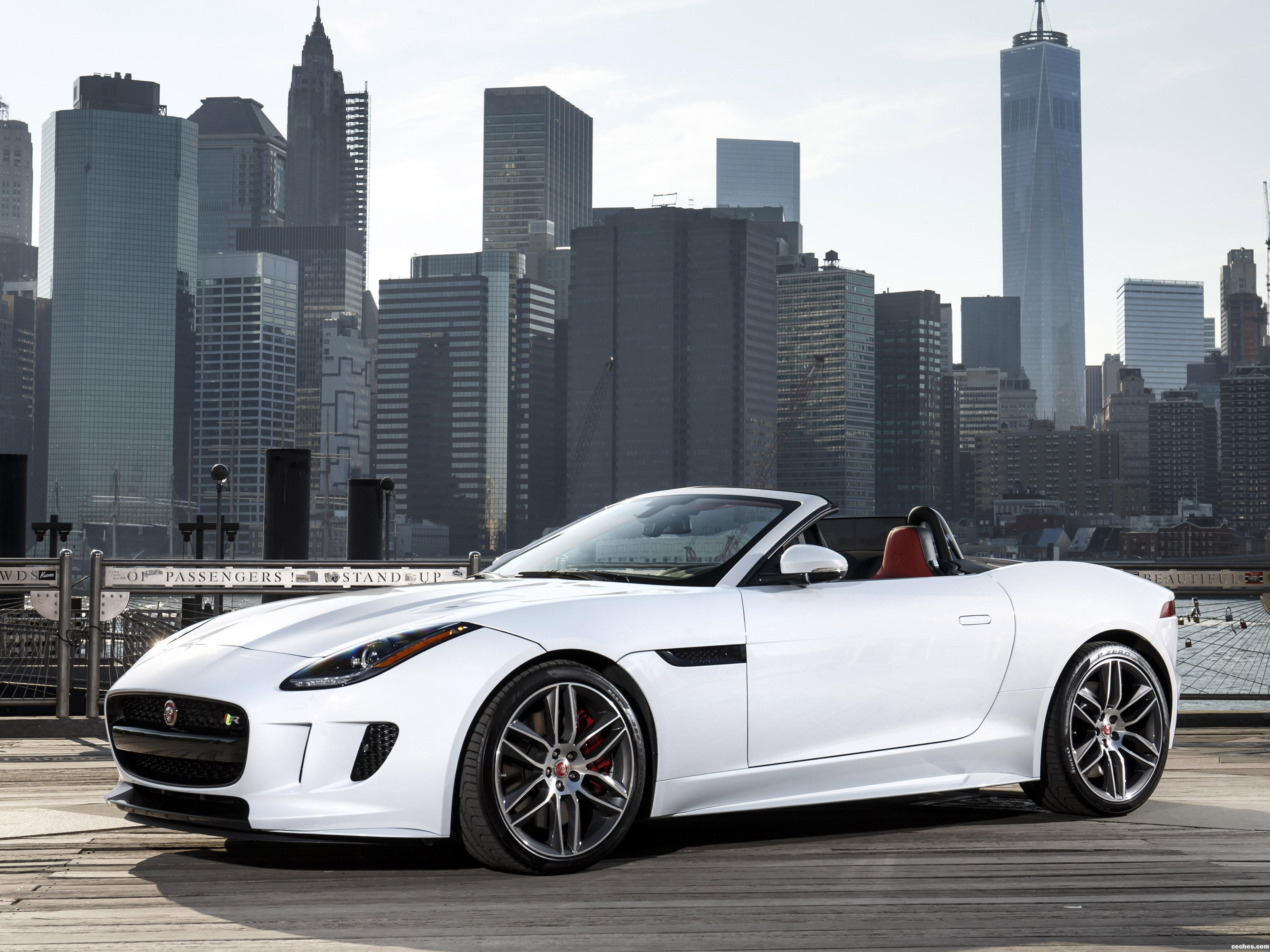 Foto 0 de Jaguar F-Type R Convertible AWD USA 2015