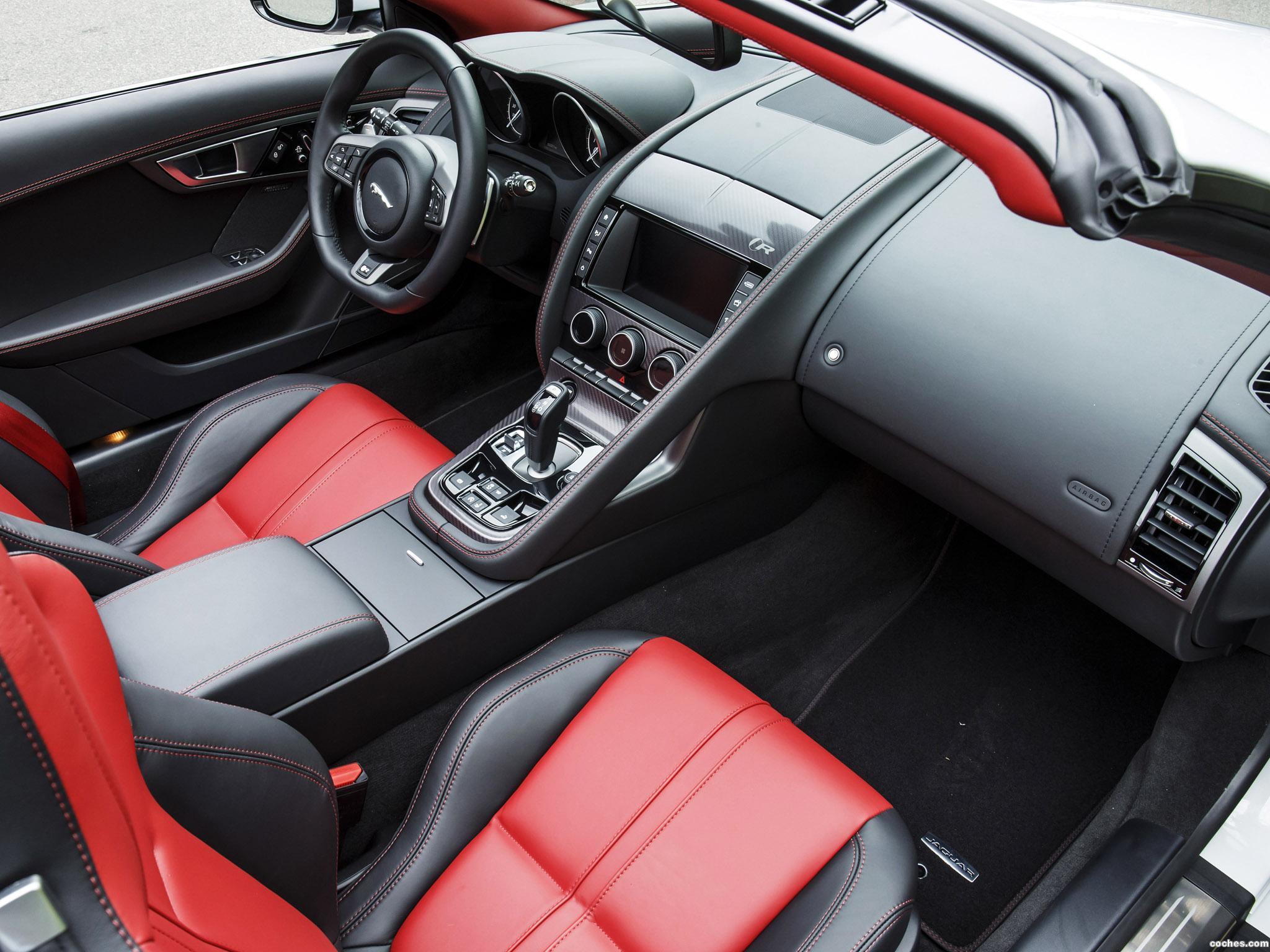 Foto 13 de Jaguar F-Type R Convertible AWD USA 2015