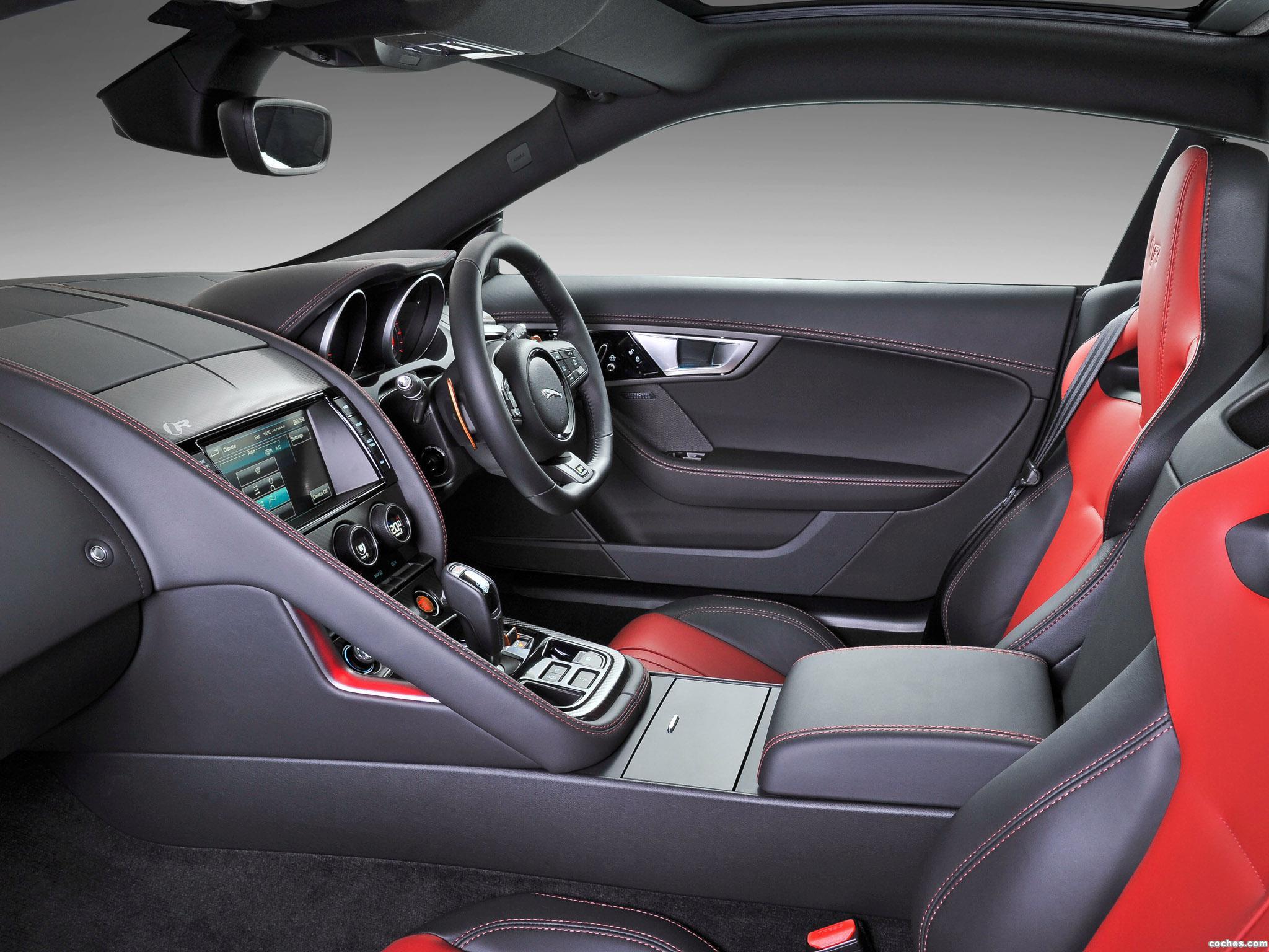 Foto 8 de Jaguar F-Type R Coupe 2014