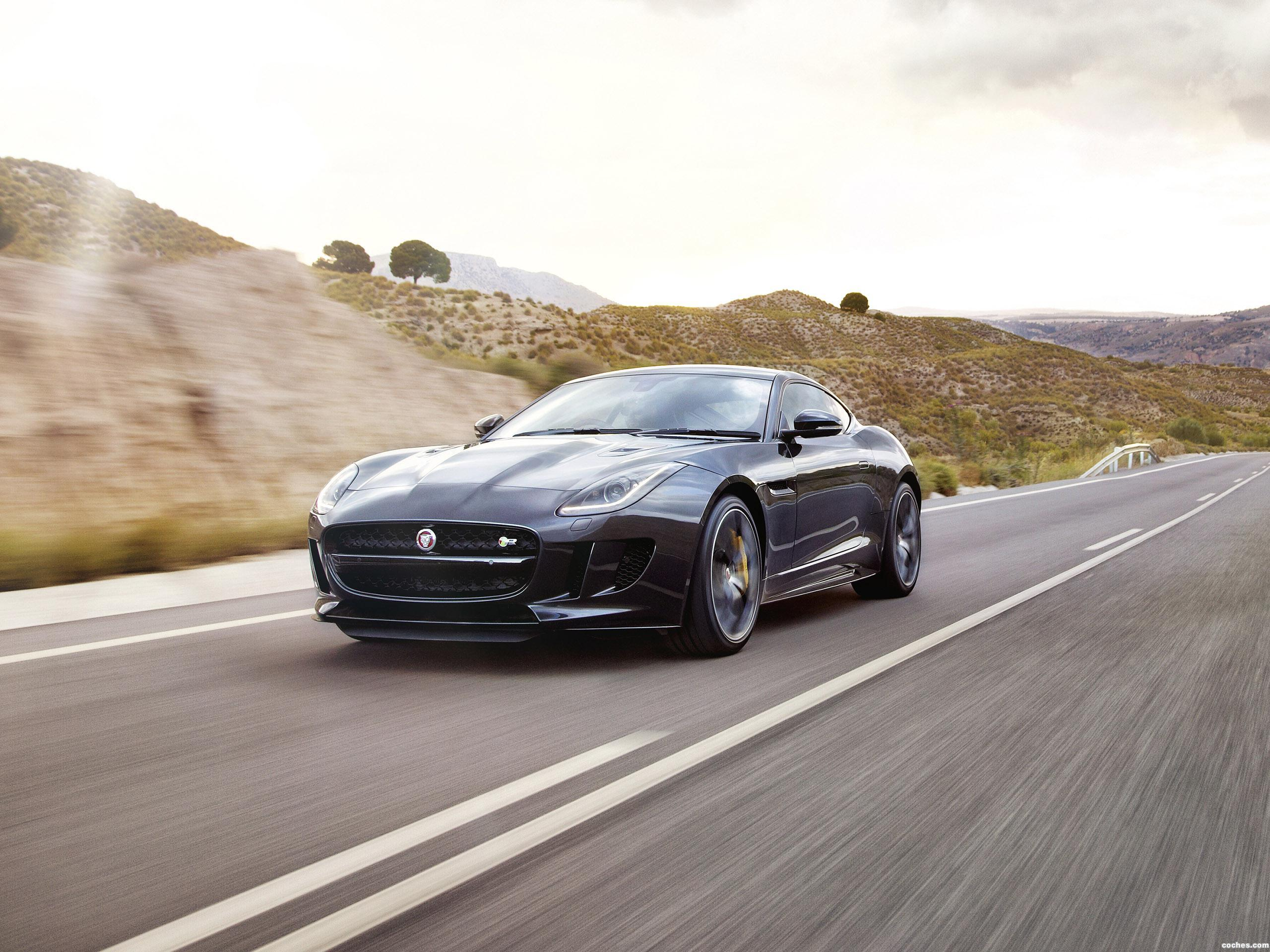 Foto 0 de Jaguar F-Type R Coupe AWD UK 2014