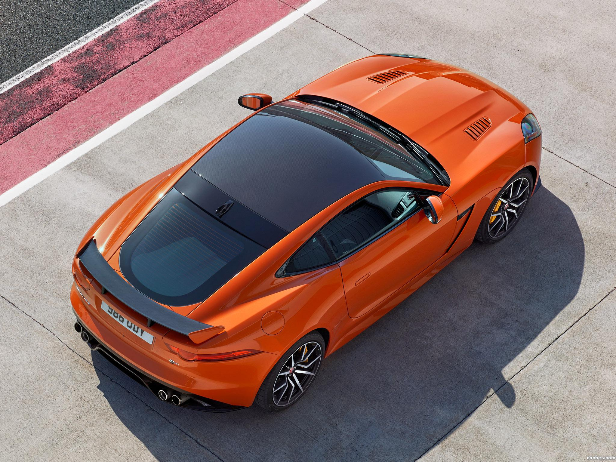 Foto 7 de Jaguar F-Type SVR Coupe 2016