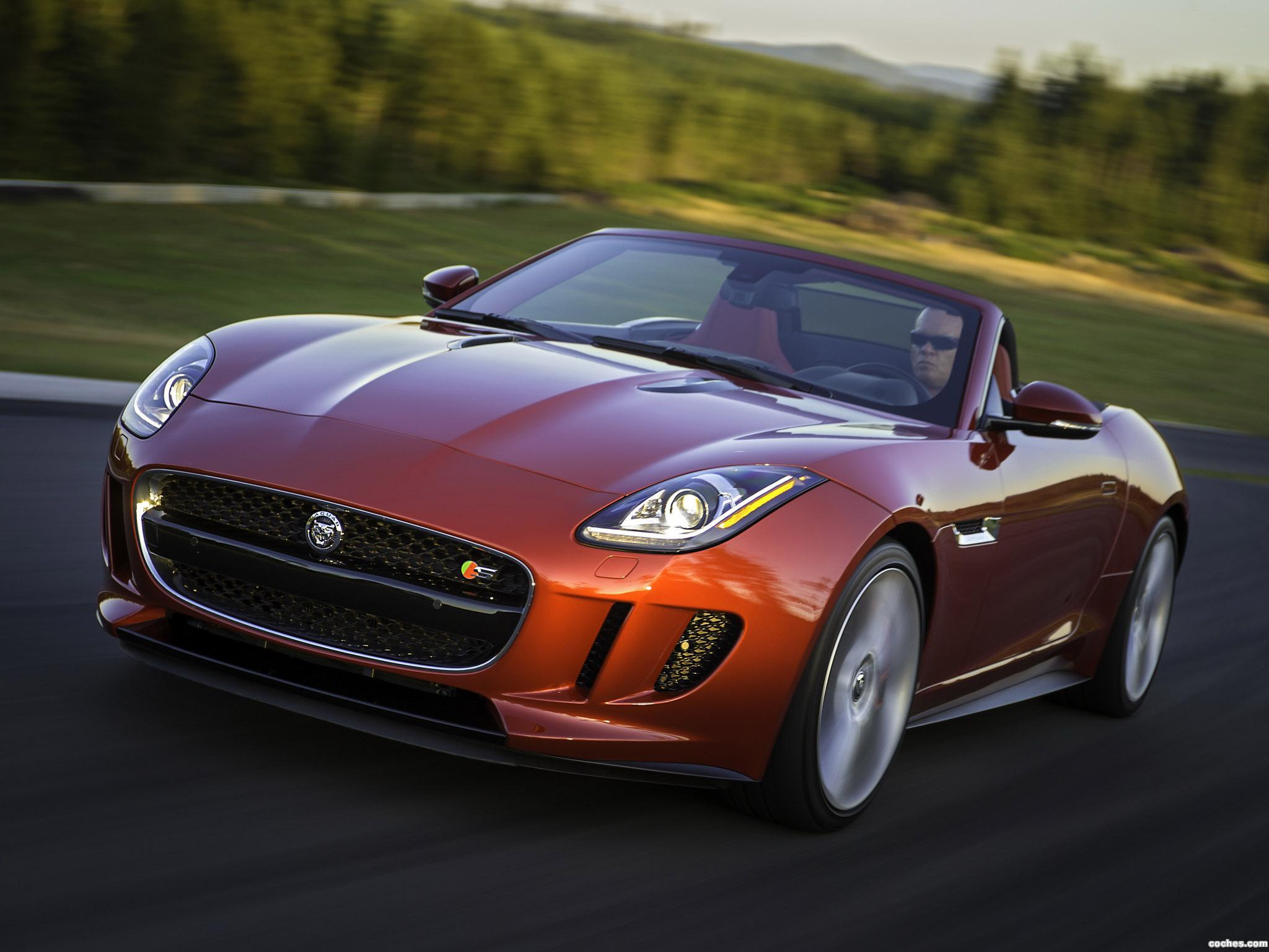 Foto 2 de Jaguar F-Type V8 S USA 2013