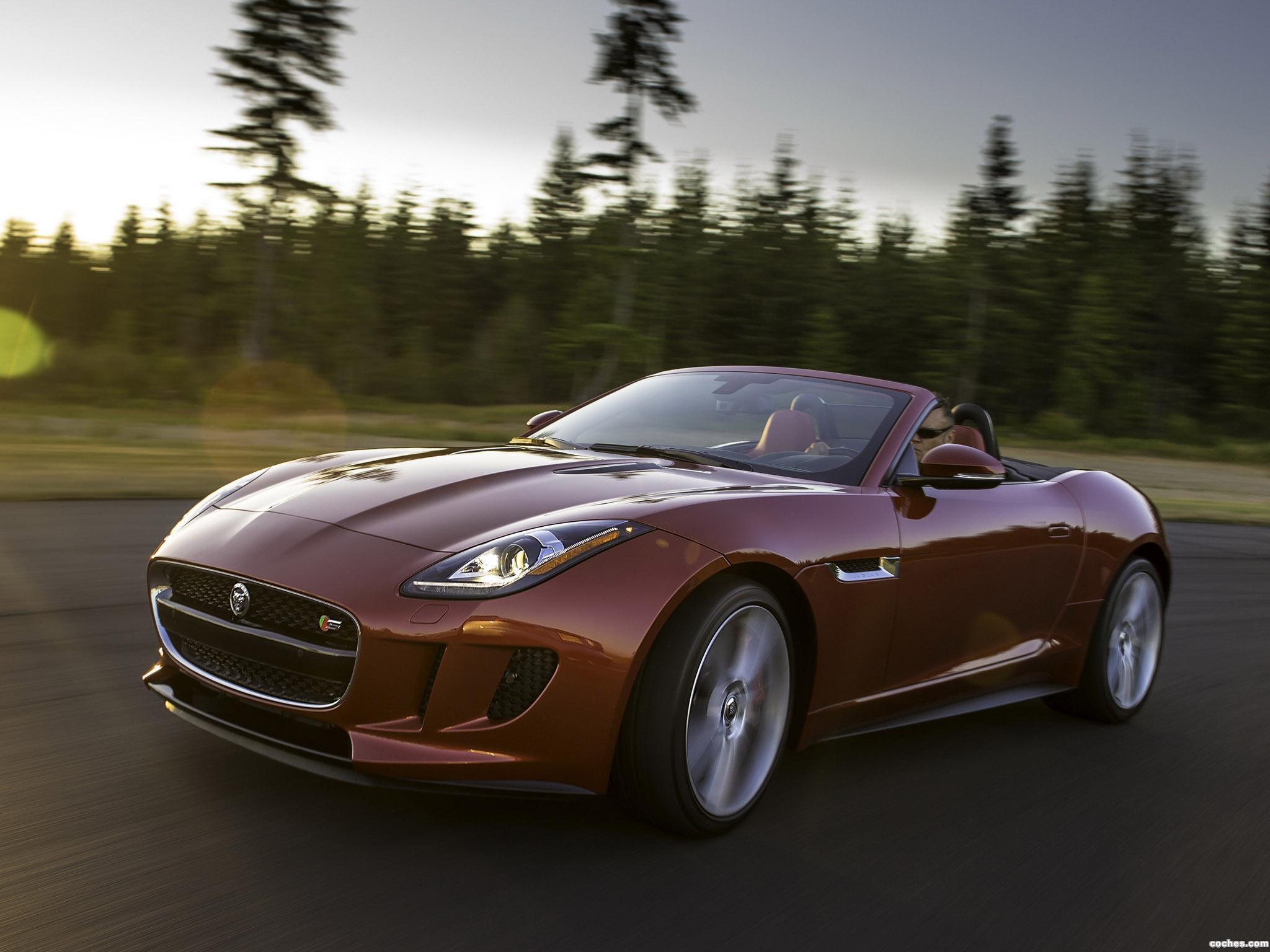 Foto 1 de Jaguar F-Type V8 S USA 2013