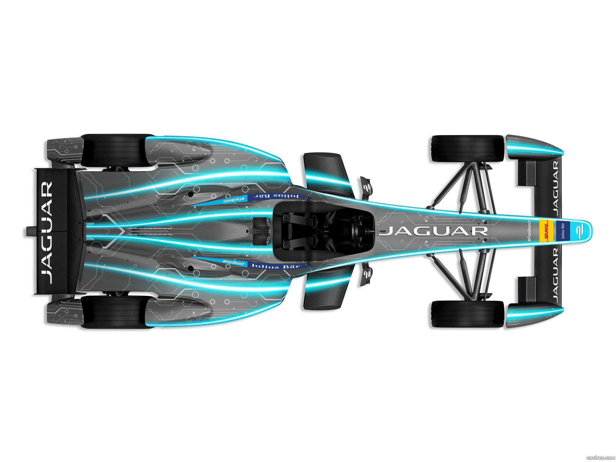 Foto 2 de Jaguar Formula E Race Car Concept 2015
