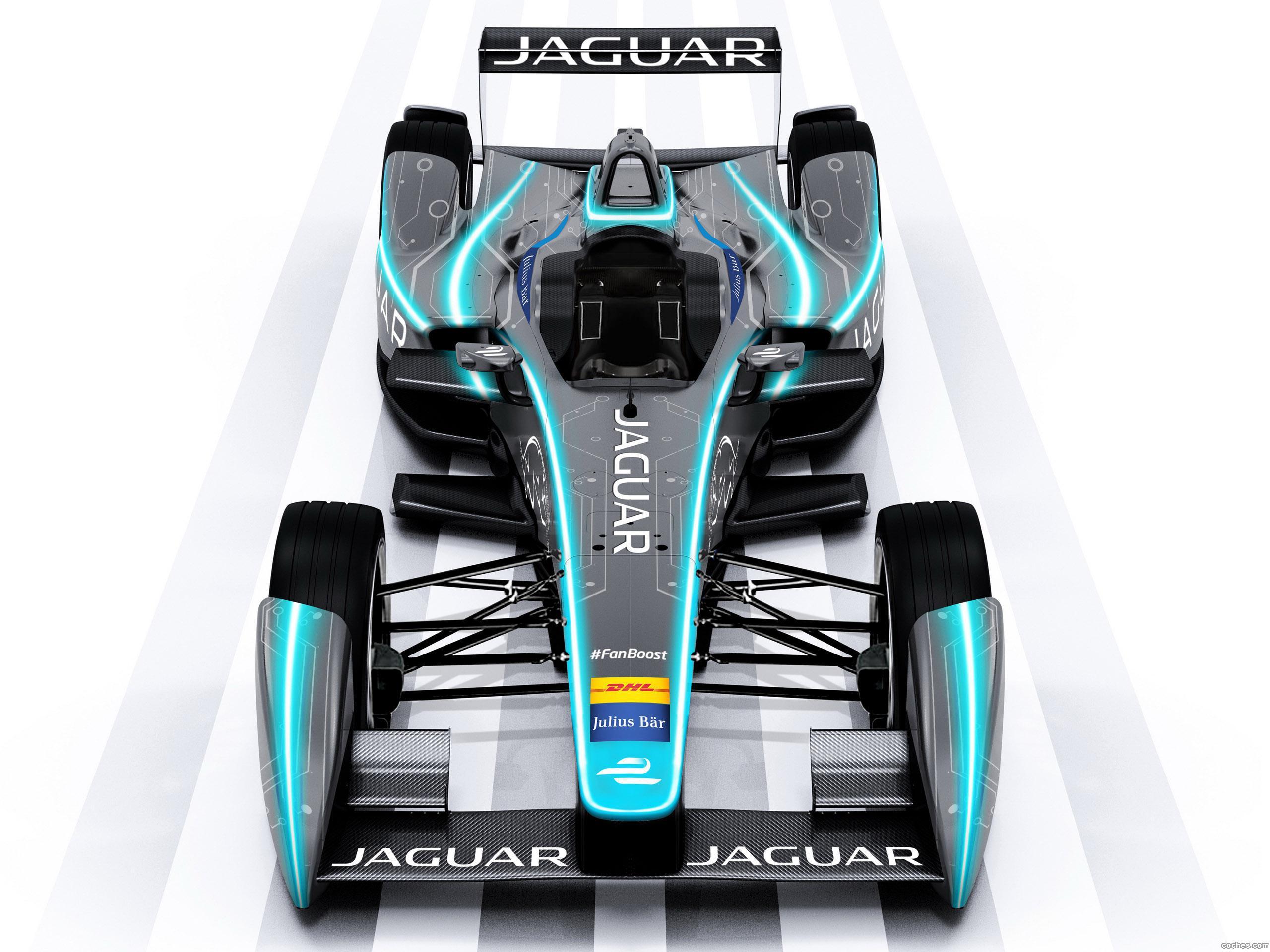 Foto 0 de Jaguar Formula E Race Car Concept 2015