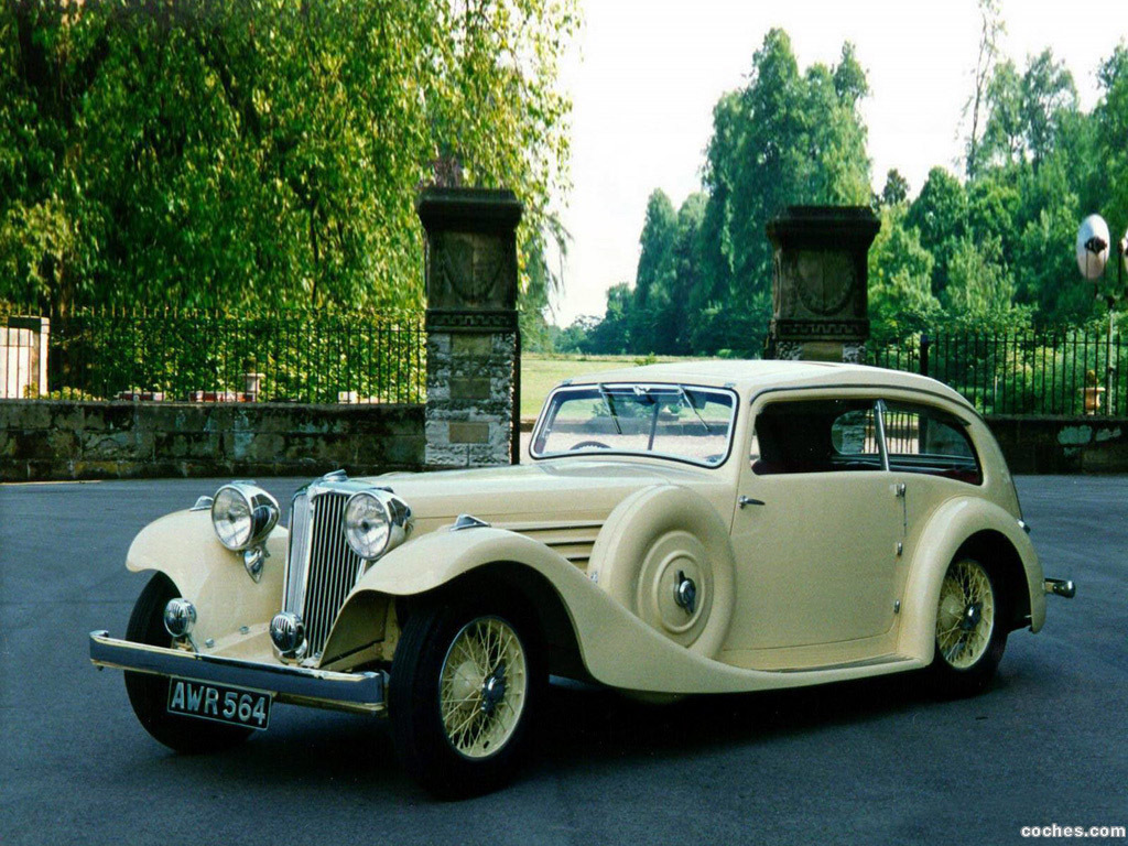 Foto 1 de Jaguar SS Airline Sedan 1935